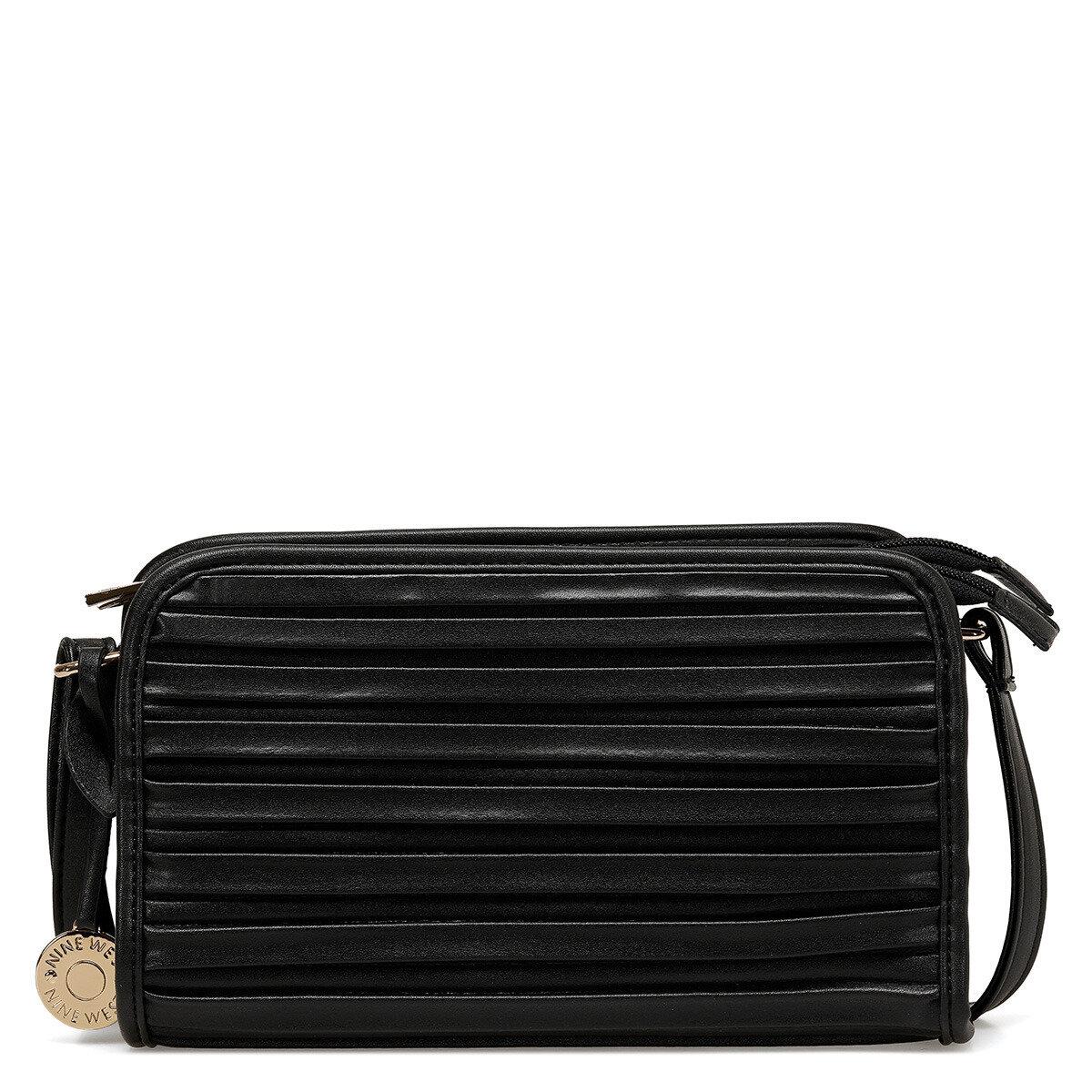 MINEL Siyah Kadın Çapraz Çanta