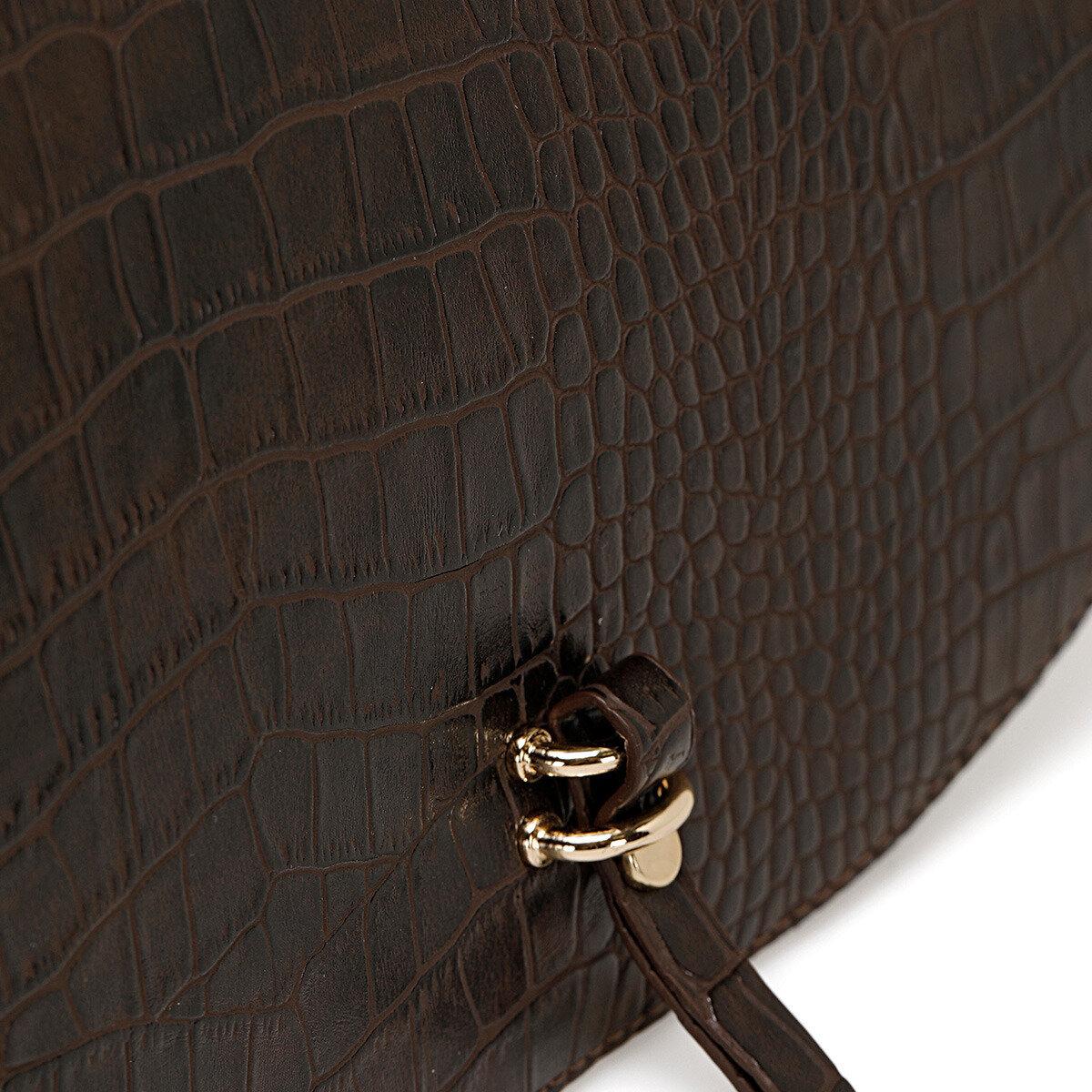 HORS Kahverengi Kadın Çapraz Çanta