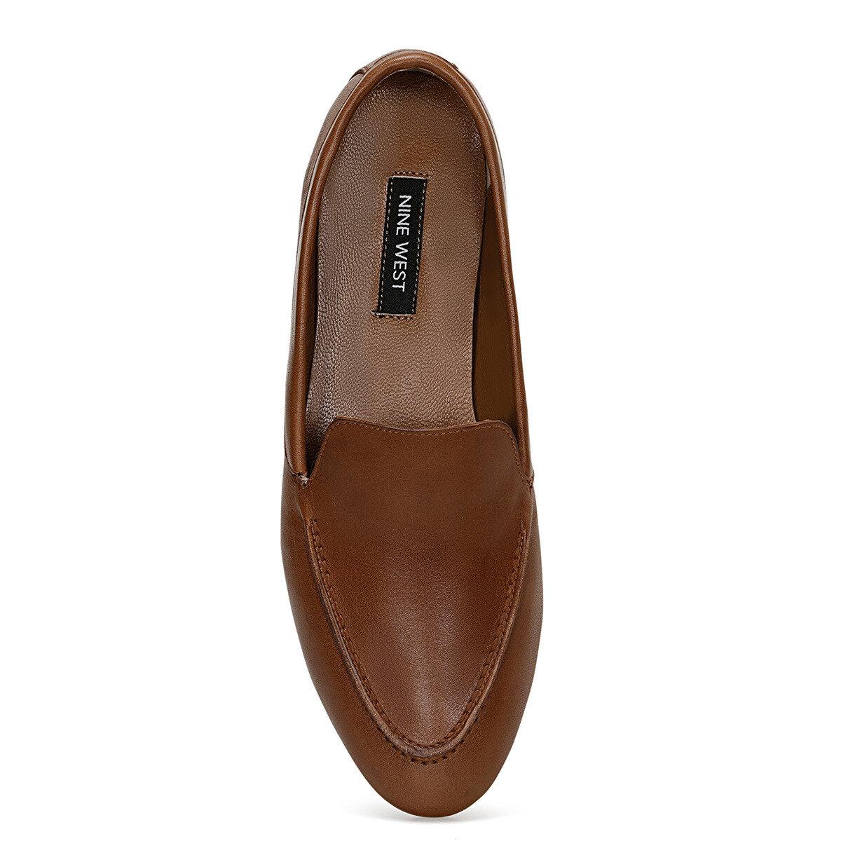 SUSHI Taba Kadın Loafer Ayakkabı