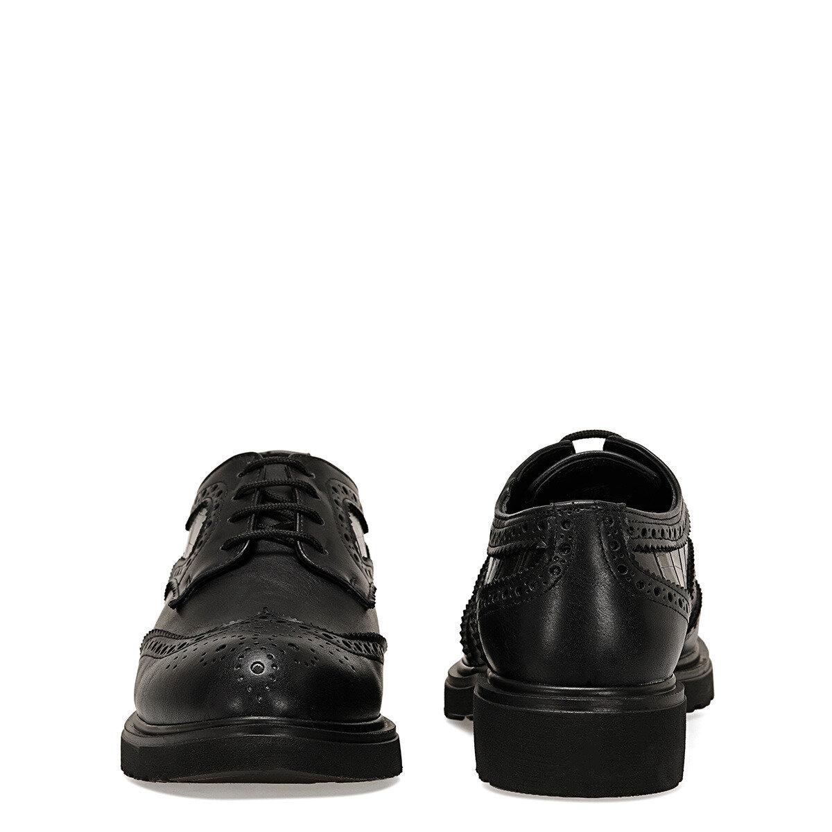 JERBIA Siyah Kadın Maskulen Ayakkabı