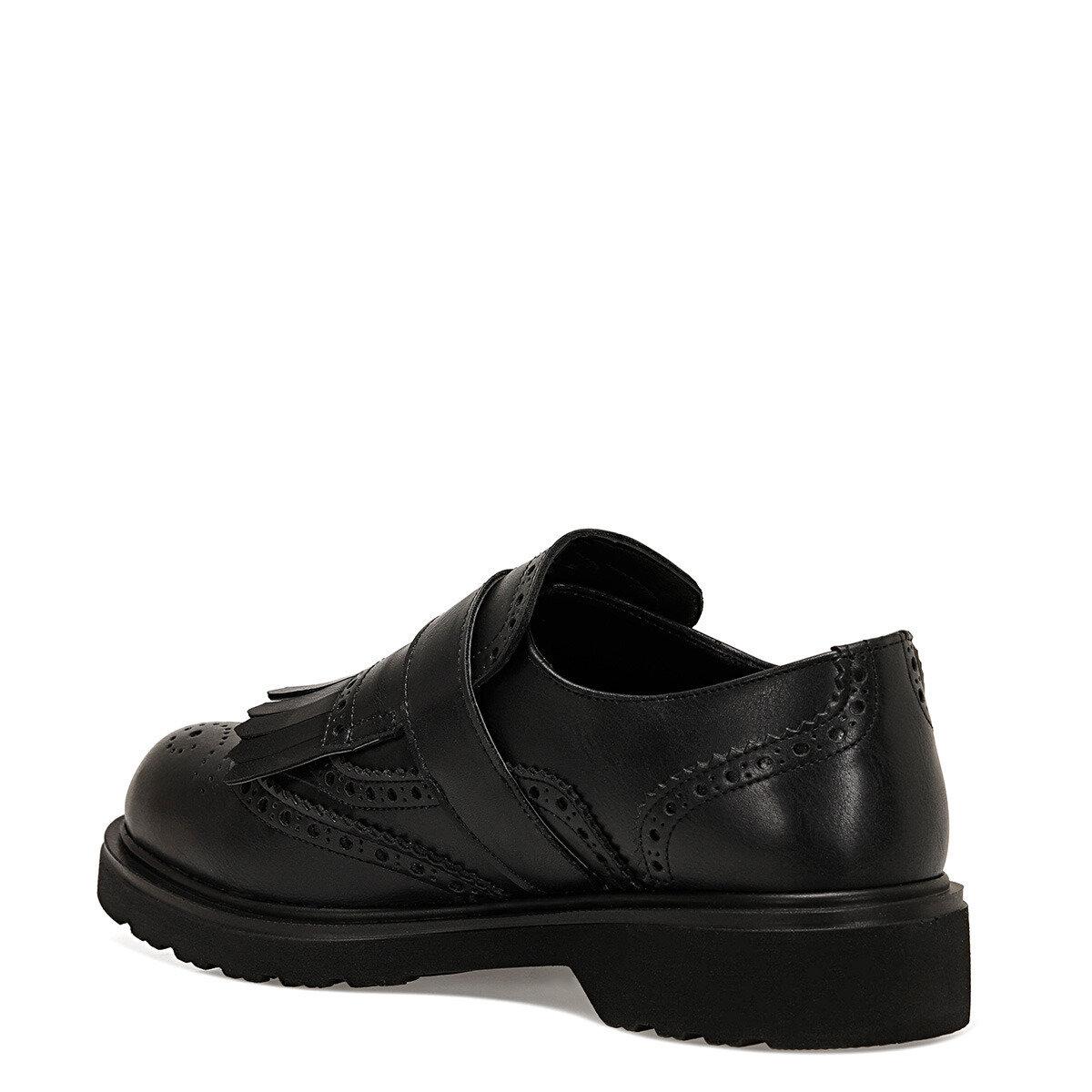 NERBIA Siyah Kadın Maskulen Ayakkabı