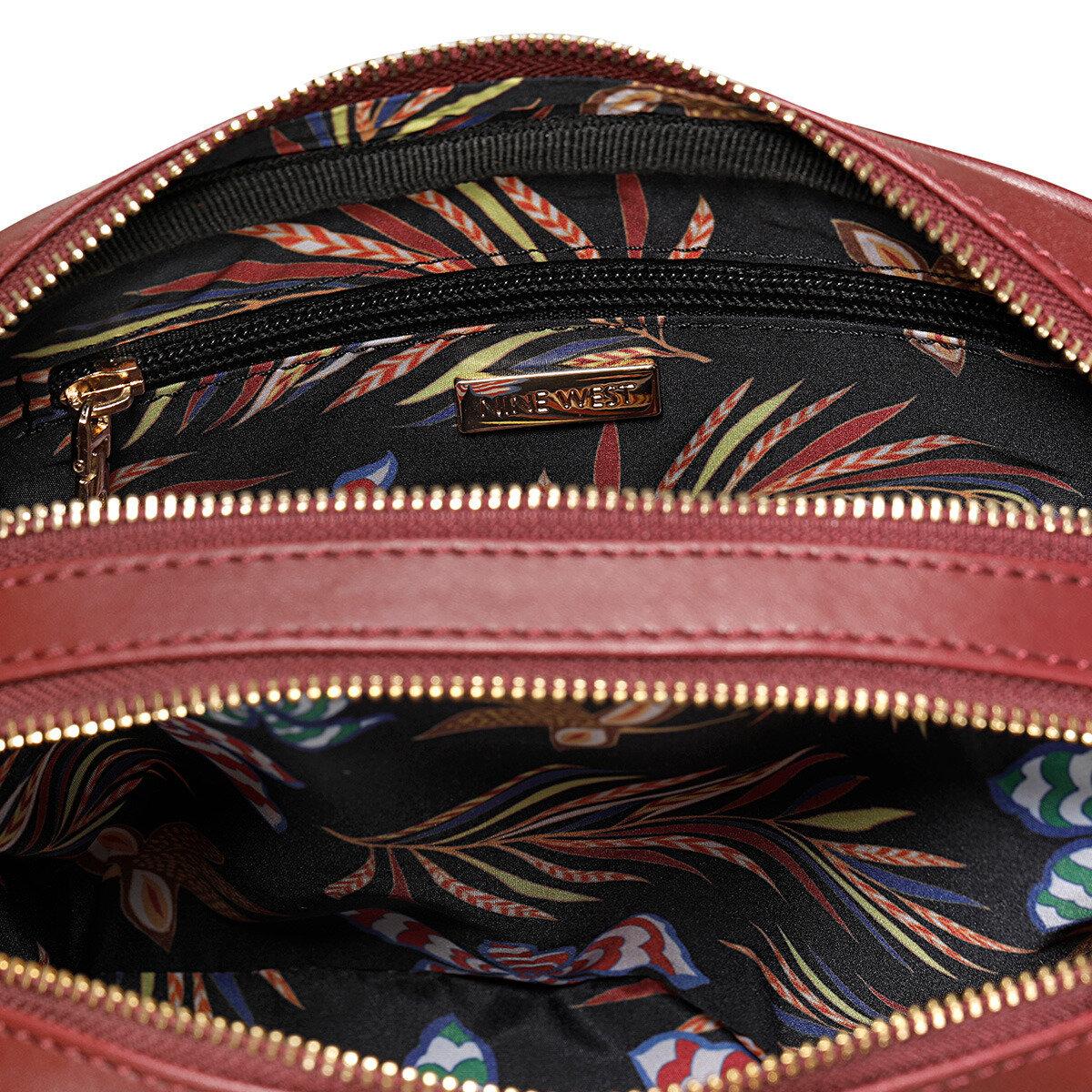 ANKA Bordo Kadın Çapraz Çanta