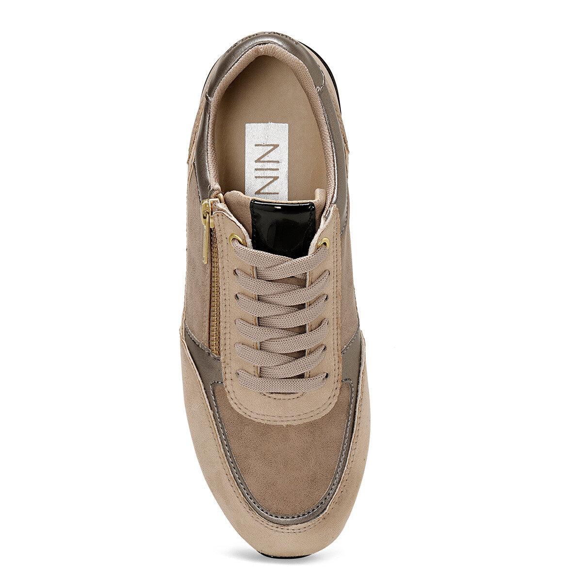 ZALMA Bronz Kadın Sneaker