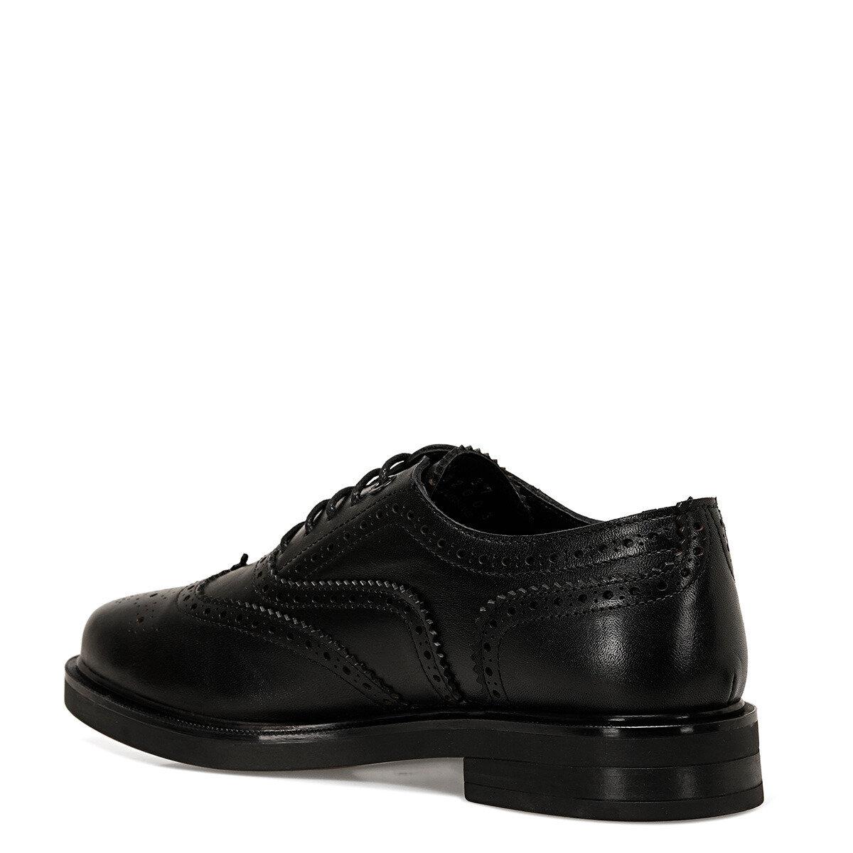 LODI Siyah Kadın Maskulen Ayakkabı