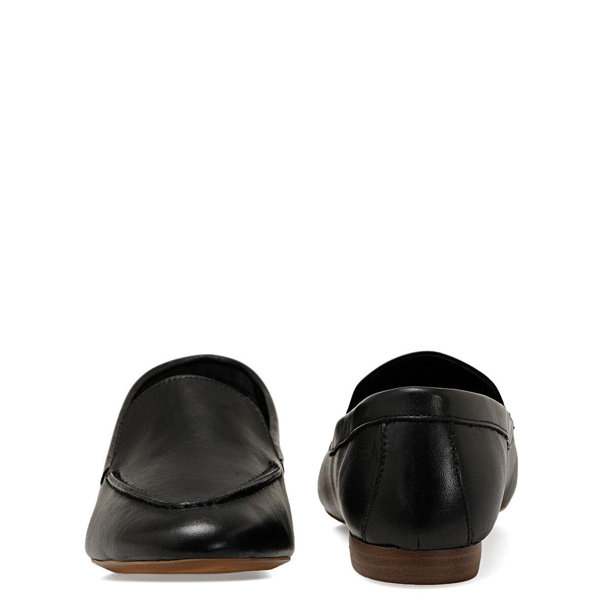 SUSHI Siyah Kadın Loafer Ayakkabı