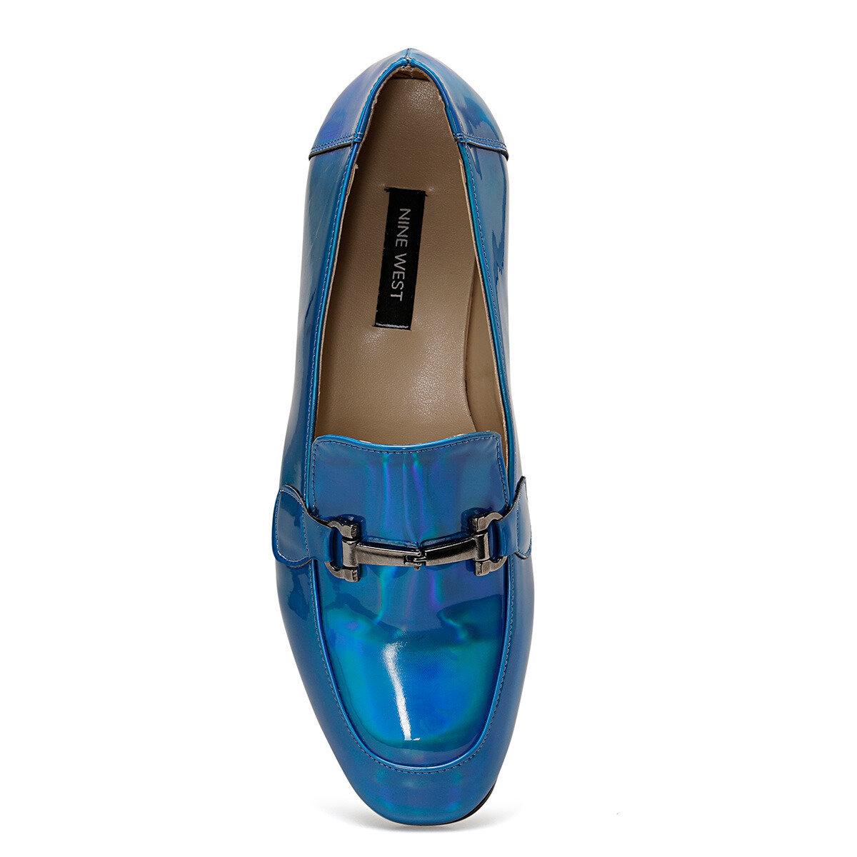 TURA Mavi Kadın Loafer Ayakkabı
