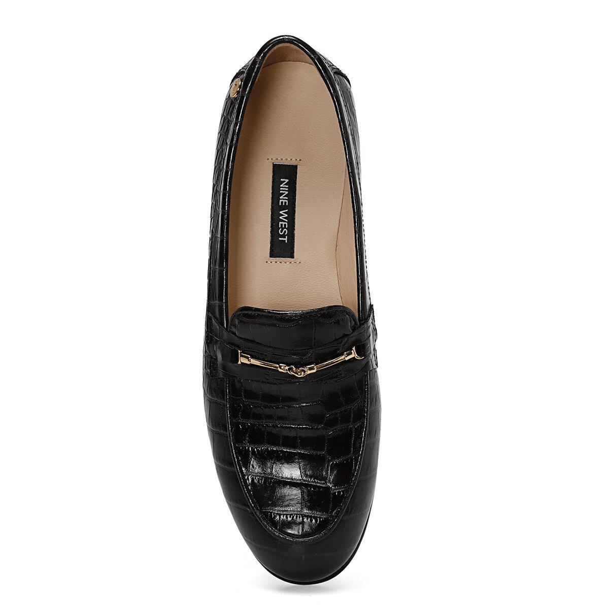 MAURO Siyah Kadın Loafer