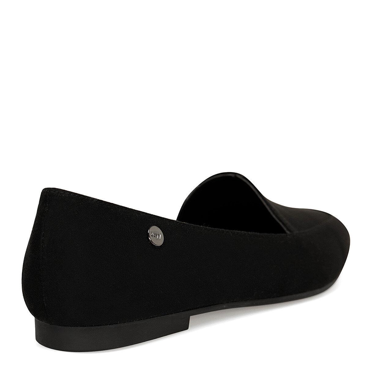 MELANIT Siyah Kadın Loafer Ayakkabı