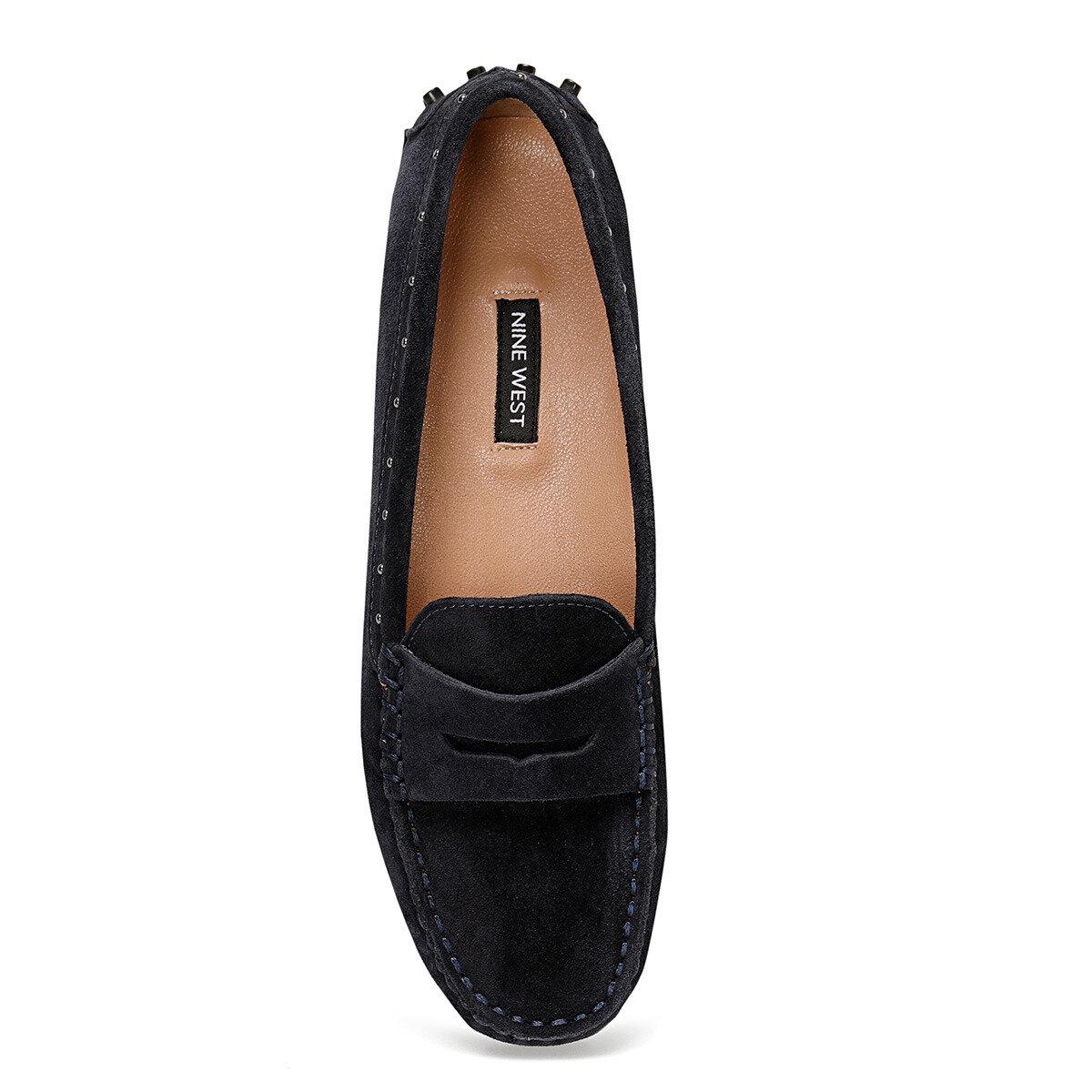 HOLTON Lacivert Kadın Loafer Ayakkabı