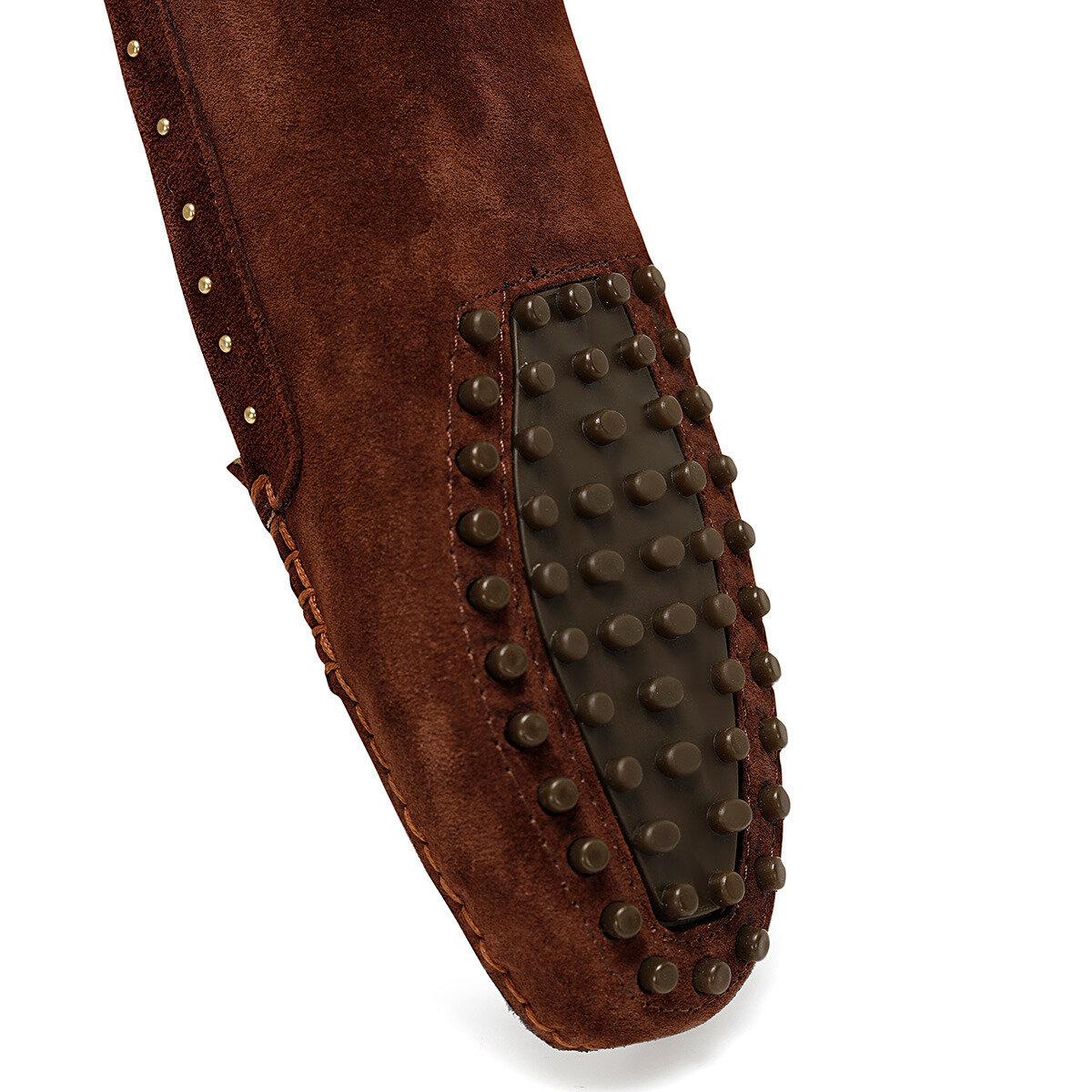 HOLTON Kiremit Kadın Loafer Ayakkabı