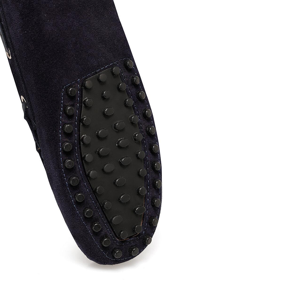 HOLT2 Lacivert Kadın Loafer Ayakkabı