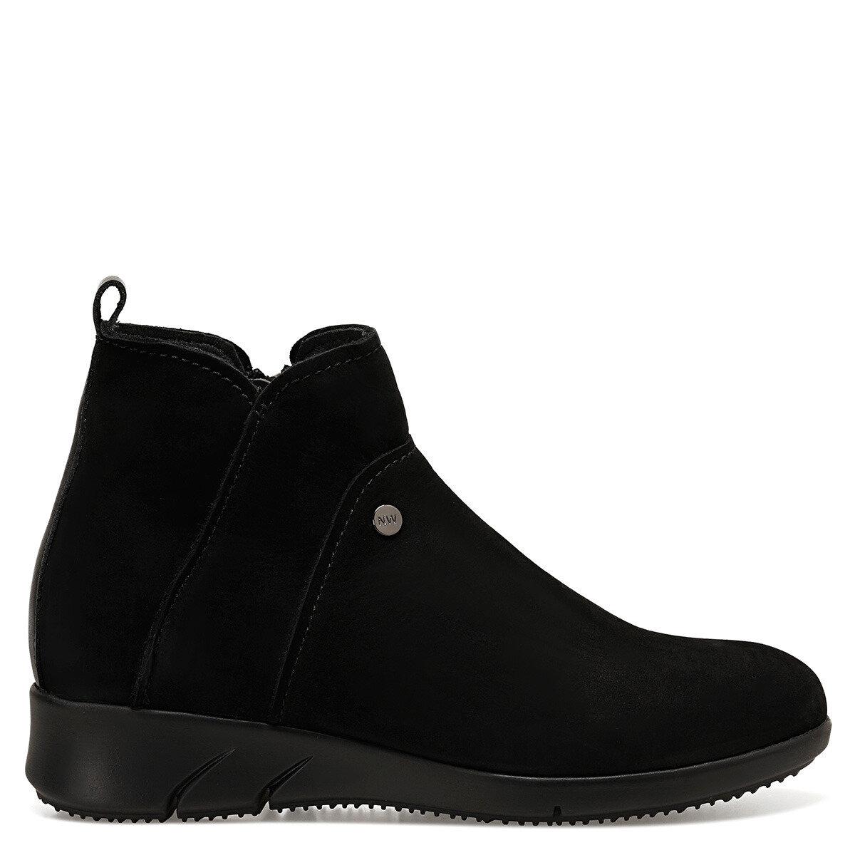 HESTIA Siyah Kadın Dolgu Topuk Ayakkabı