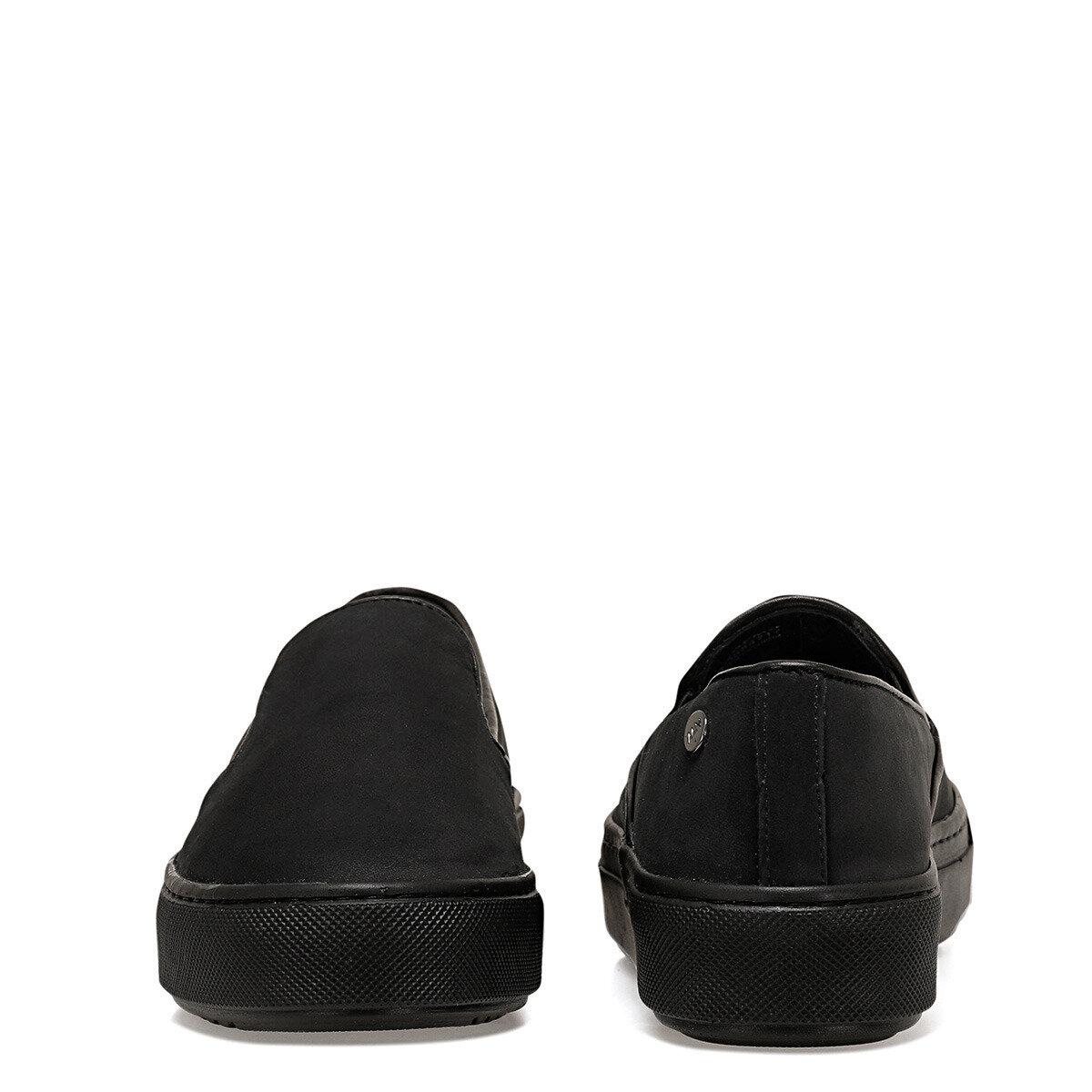 SADEMO Siyah Kadın Slip On Ayakkabı