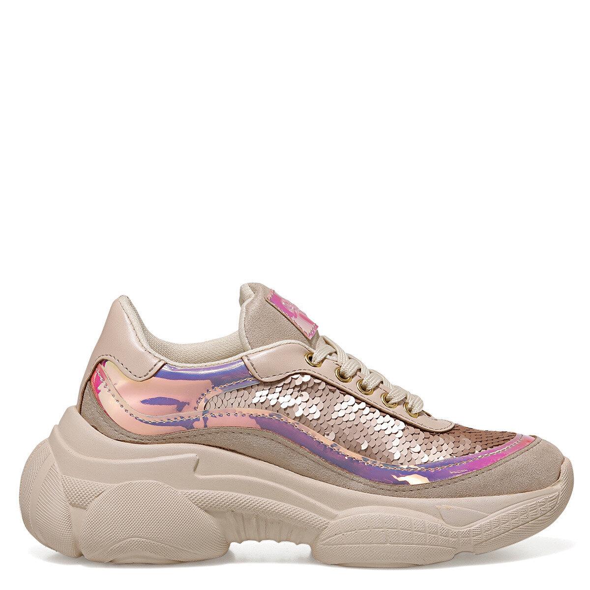HERRA Bej Kadın Sneaker
