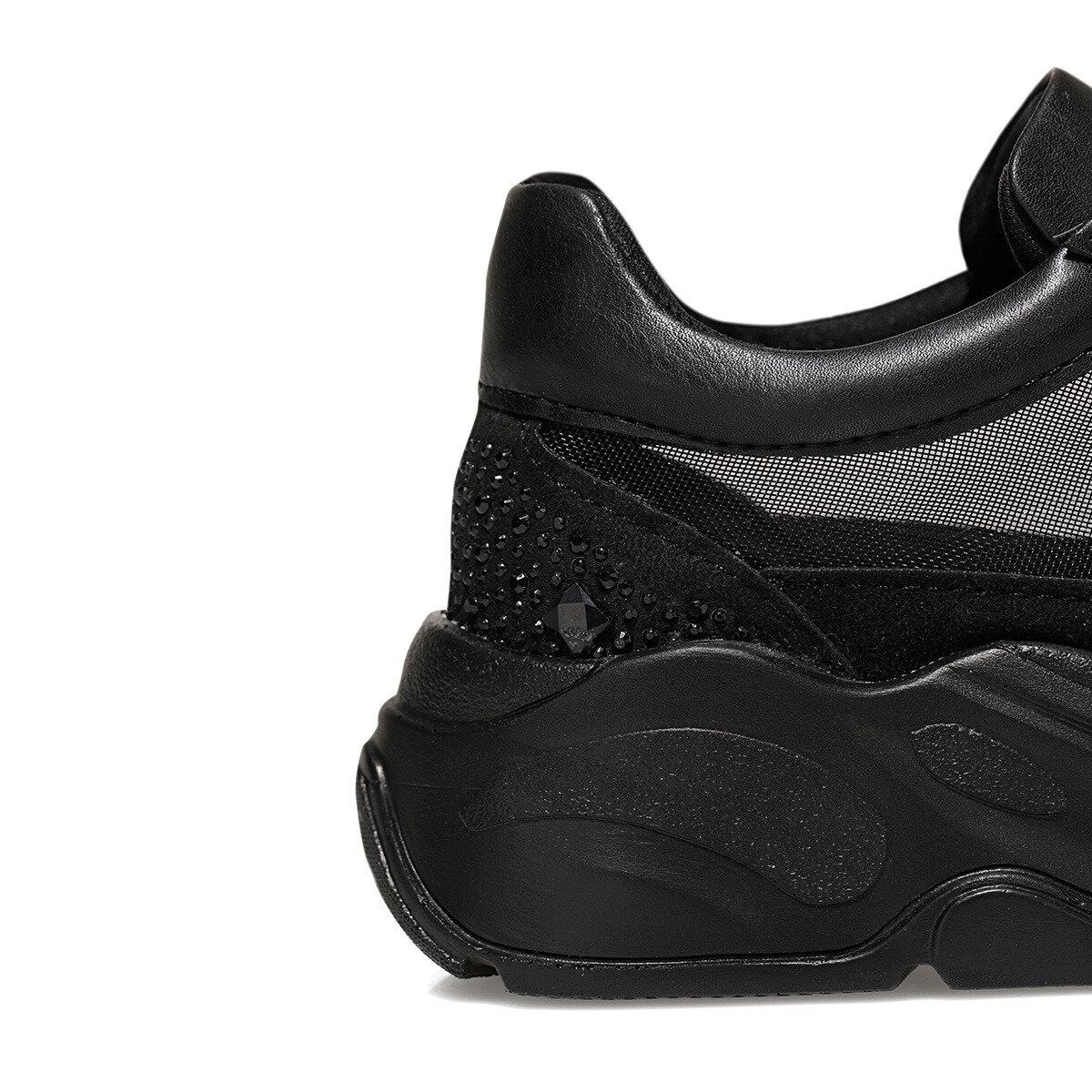 KHARIS Siyah Kadın Sneaker