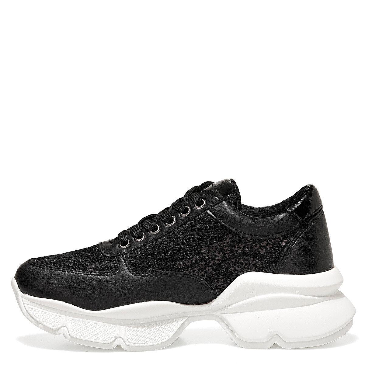 ODANTA Siyah Kadın Sneaker
