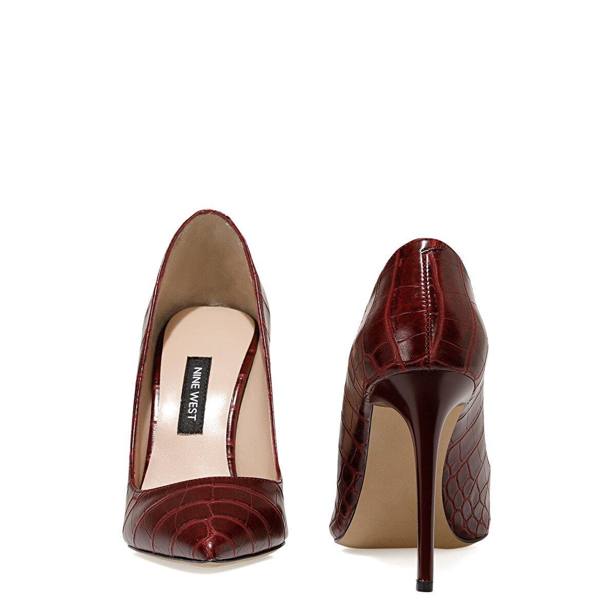 SUNDE2 Bordo Kadın Gova Ayakkabı