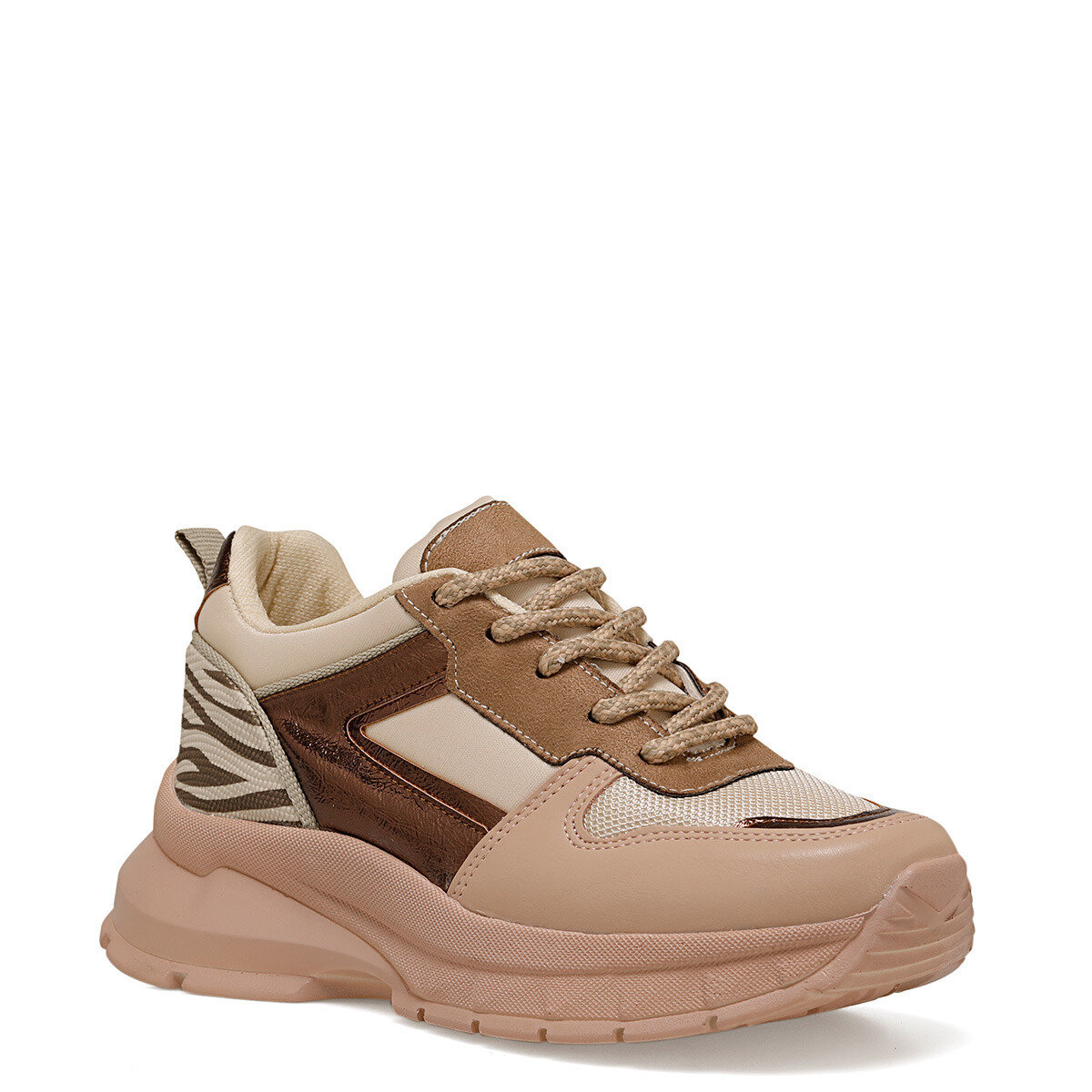 ZEBINA Pudra Kadın Fashion Sneaker