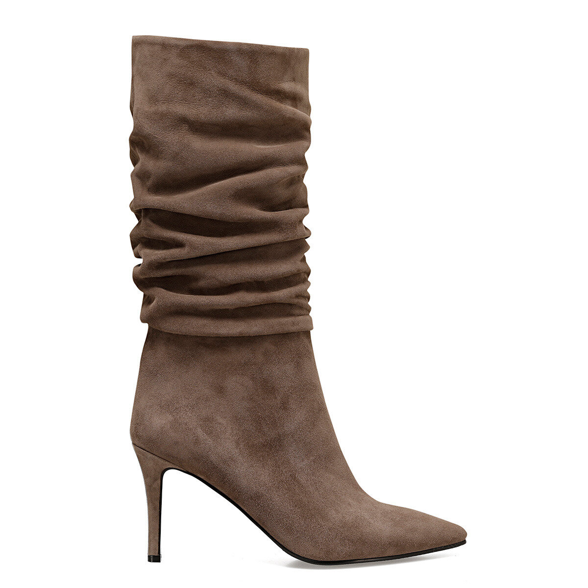 MOLLY Vizon Kadın Topuklu Çizme