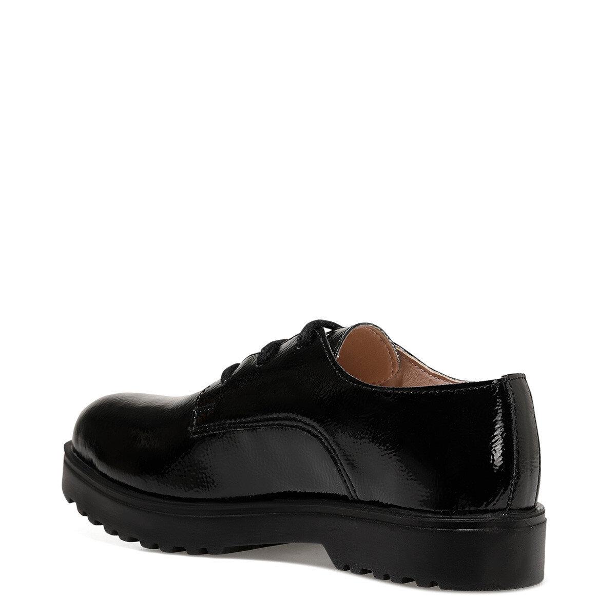 ZETTE Siyah Kadın Maskulen Ayakkabı