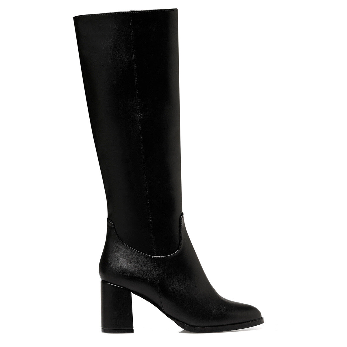 MASSA3 Siyah Kadın Topuklu Çizme