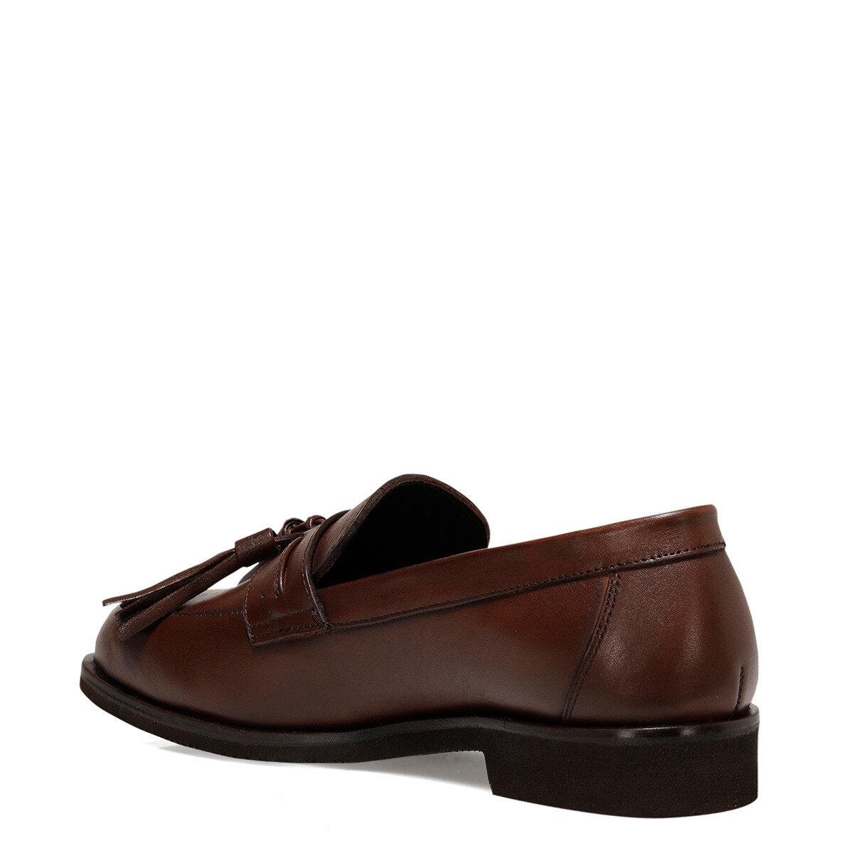 BAMBOLA2 Koyu Kahve Kadın Loafer Ayakkabı