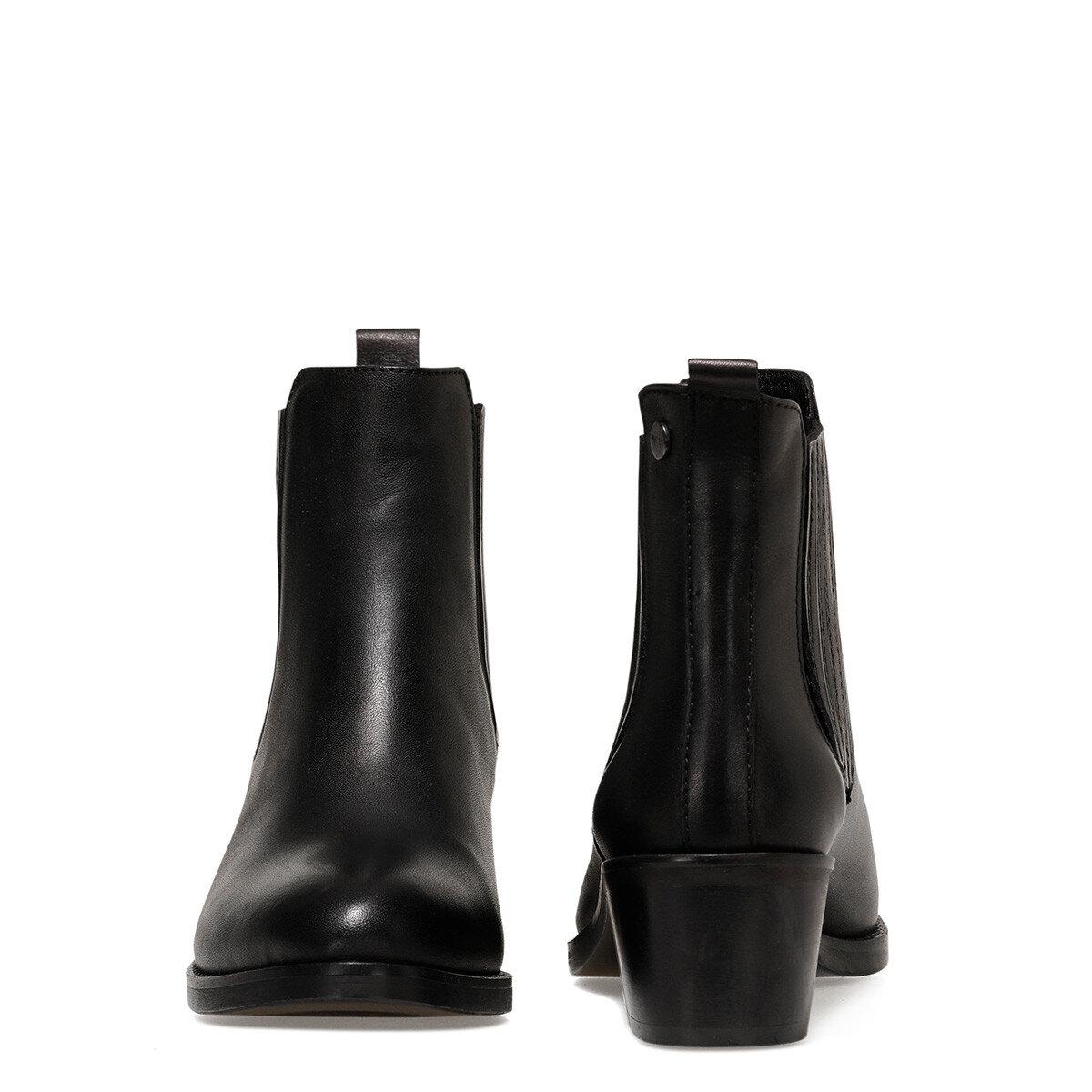 OSME Siyah Kadın Topuklu Bot