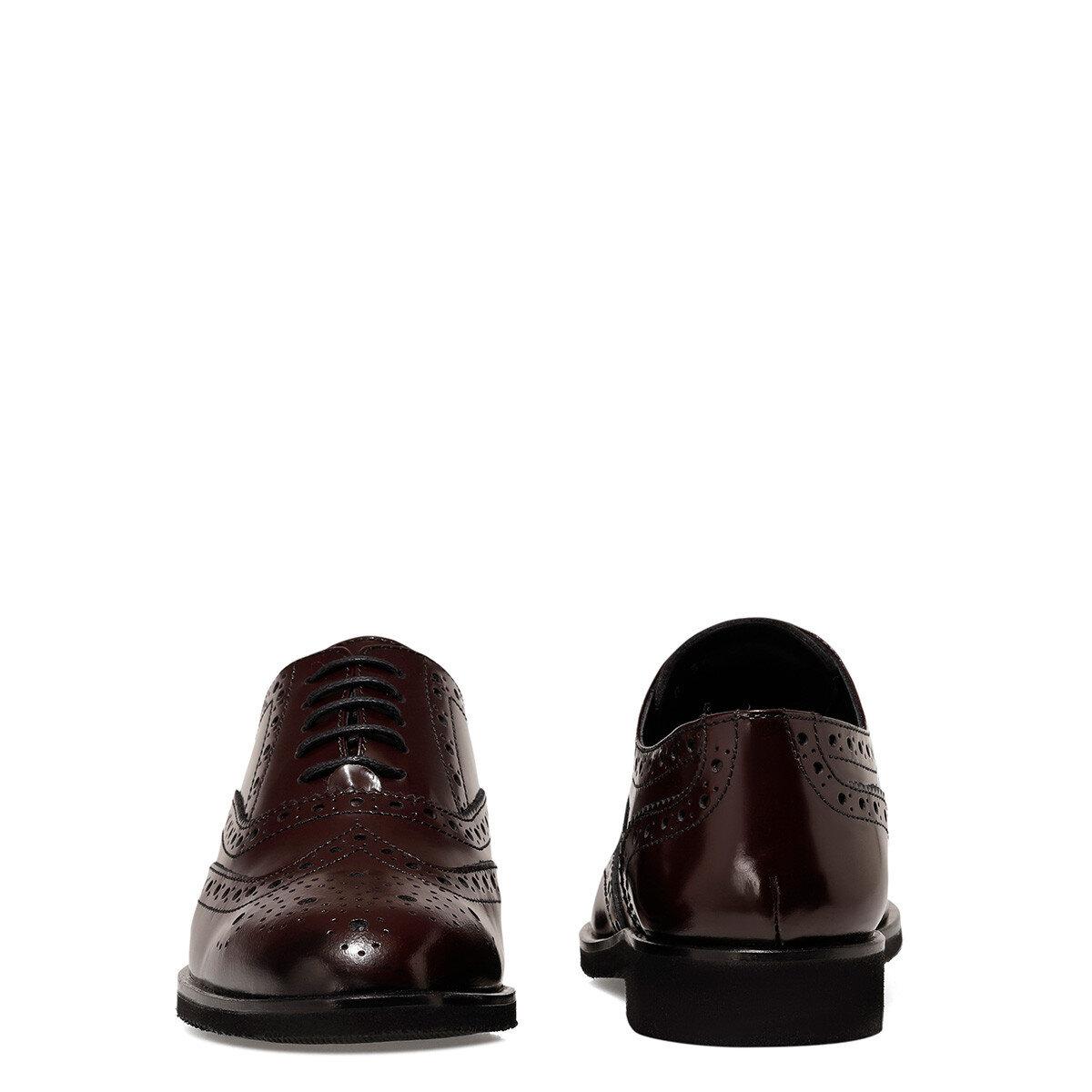 PERAN Bordo Kadın Maskulen Ayakkabı