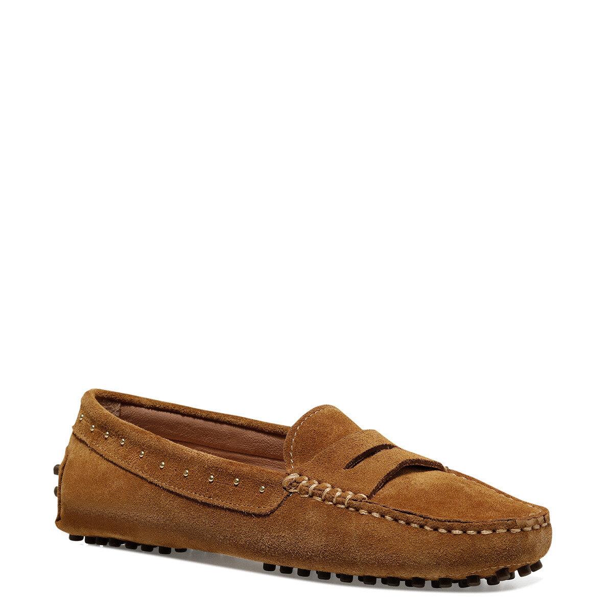 HOLTON Taba Kadın Loafer Ayakkabı