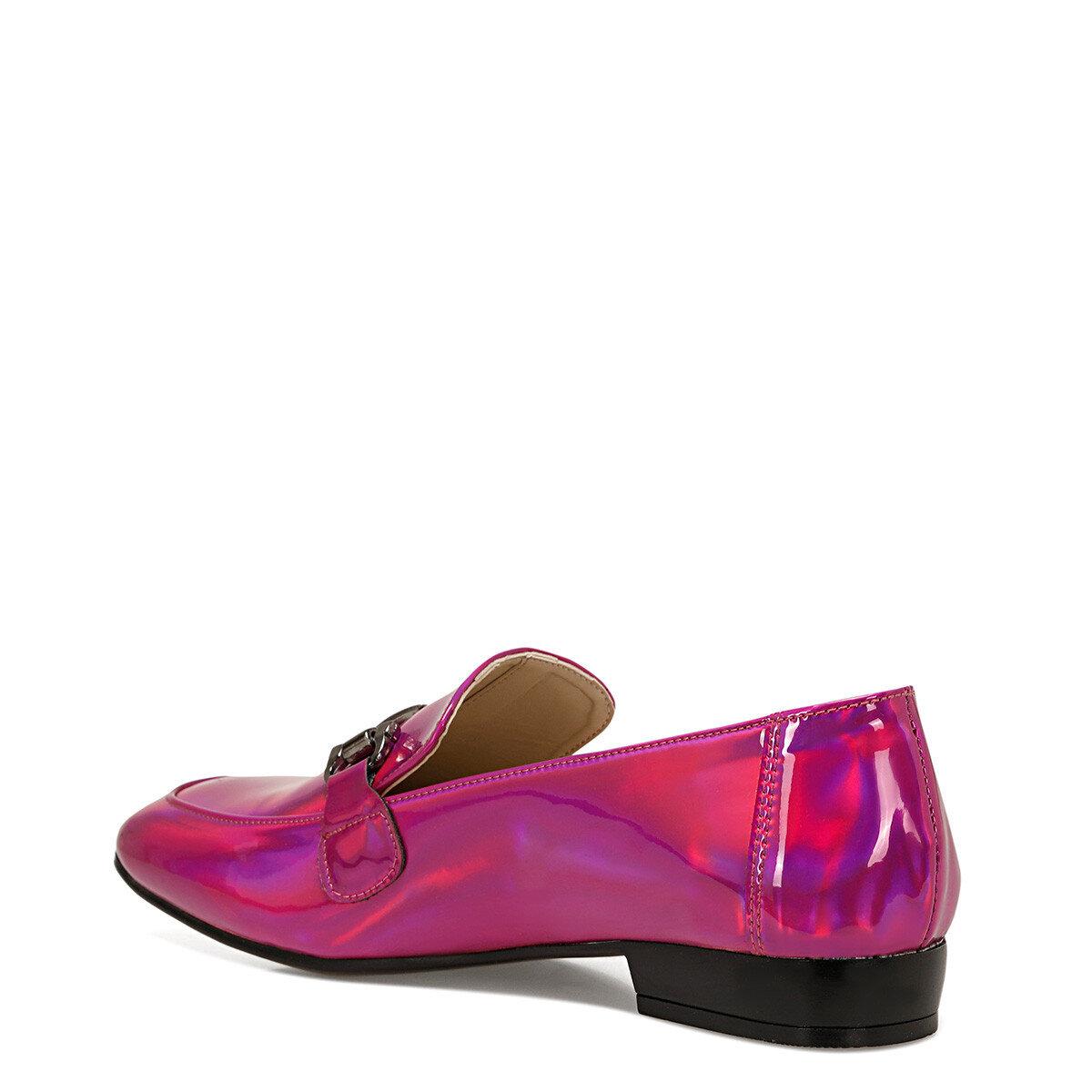 TURA Pembe Kadın Loafer Ayakkabı