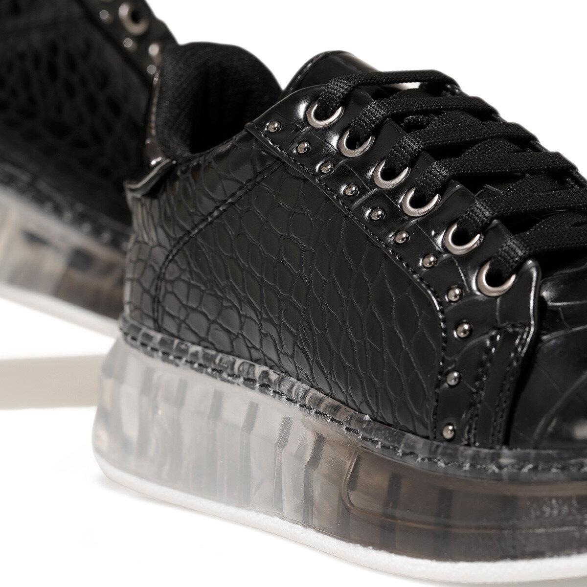 MAIA Siyah Kadın Sneaker
