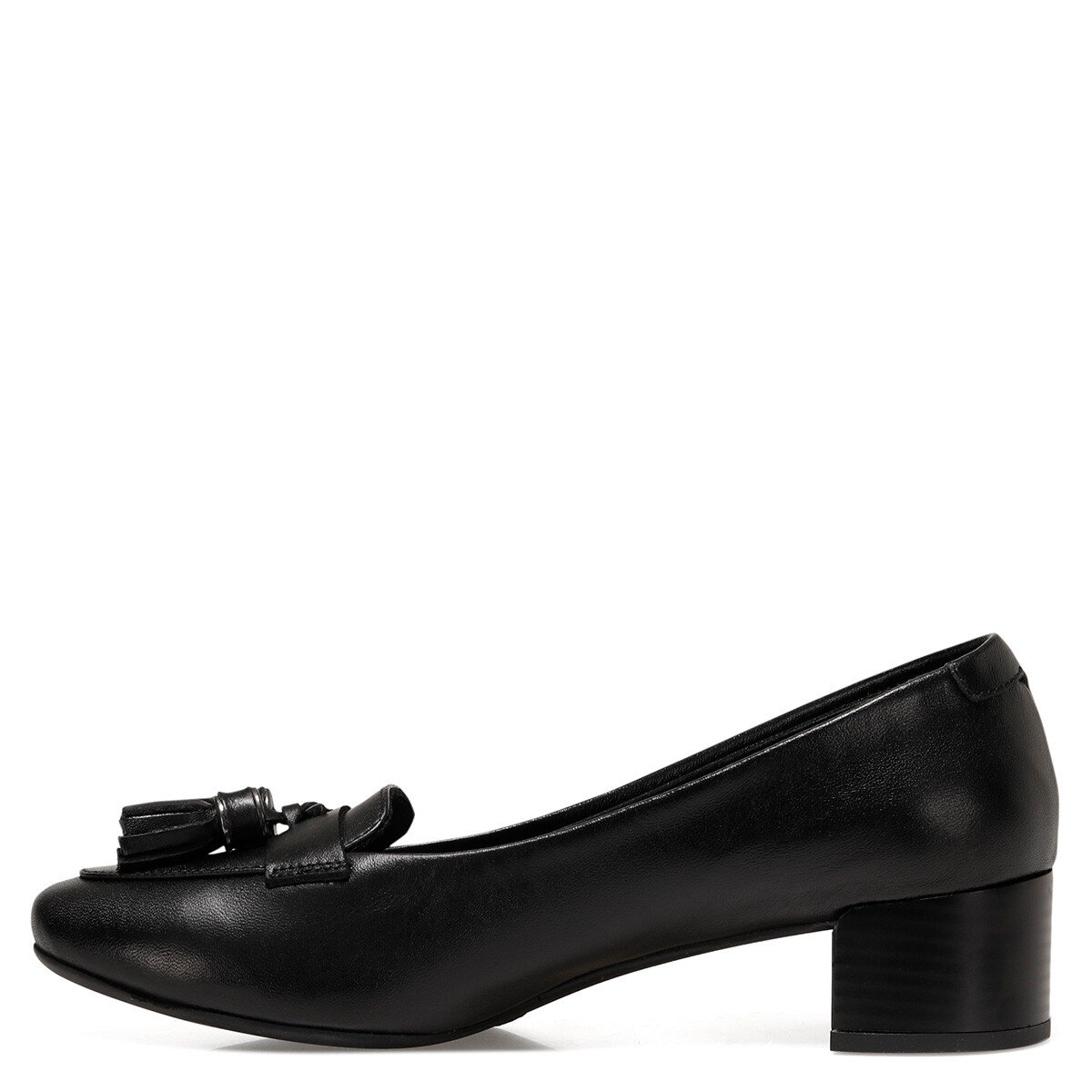 MOSSE2 Siyah Kadın Klasik Topuklu Ayakkabı