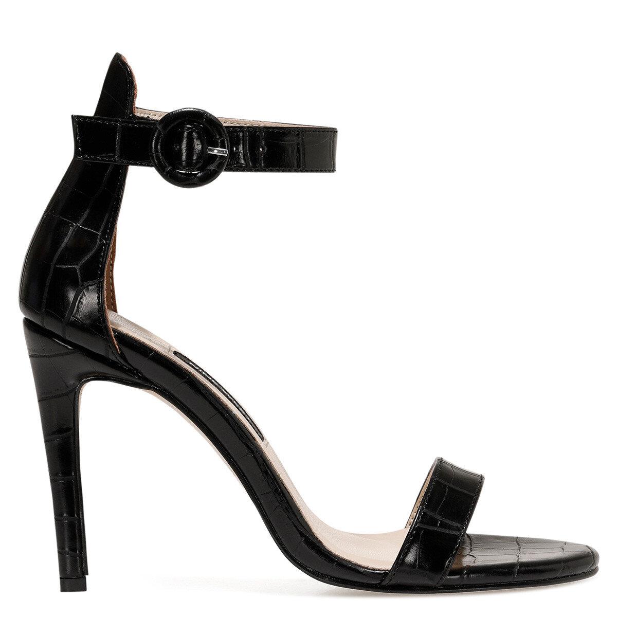 LINDIT Siyah Kadın Topuklu Ayakkabı