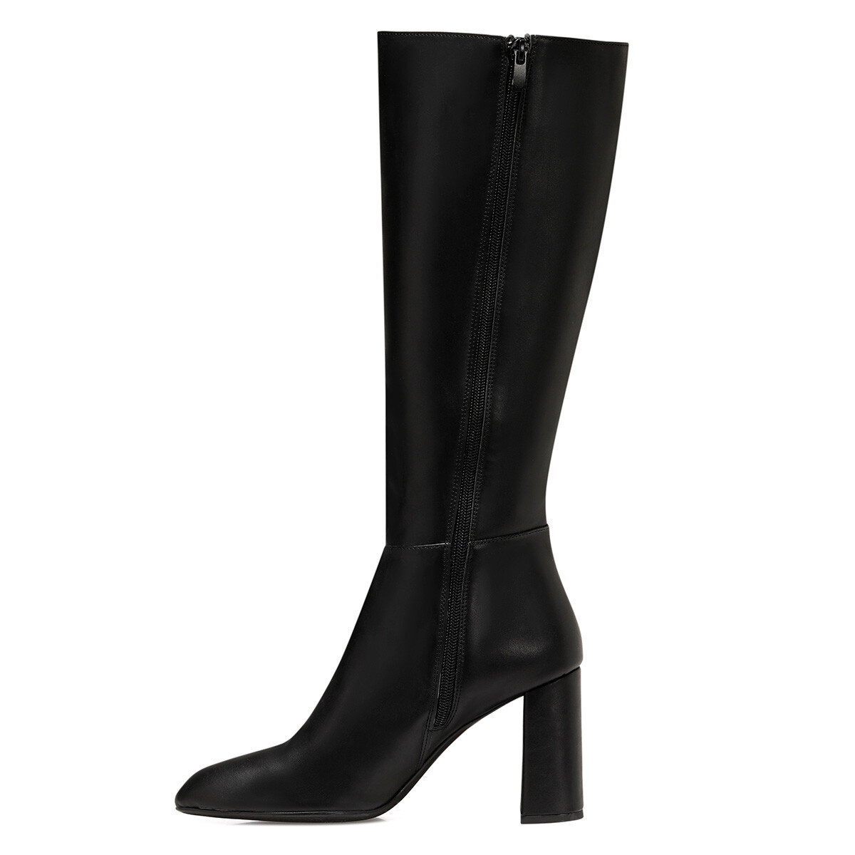 MARIMBU Siyah Kadın Topuklu Çizme
