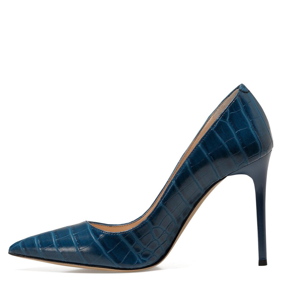 SUNDE2 Mavi Kadın Gova Ayakkabı