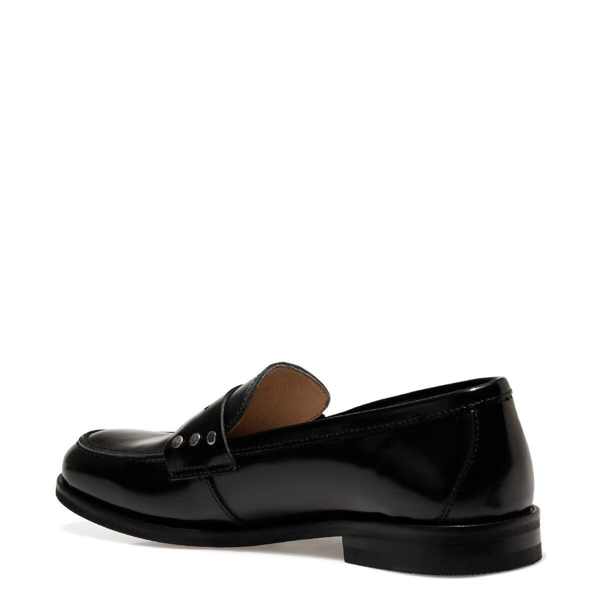 BRANDIE Siyah Kadın Loafer Ayakkabı