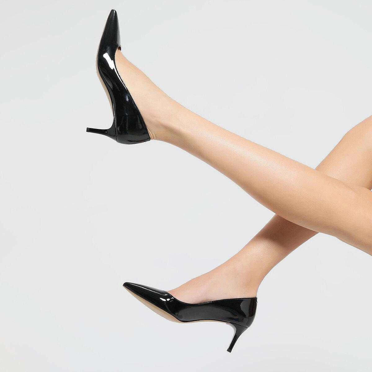 SUNNYDAY3 Siyah Kadın Gova Ayakkabı