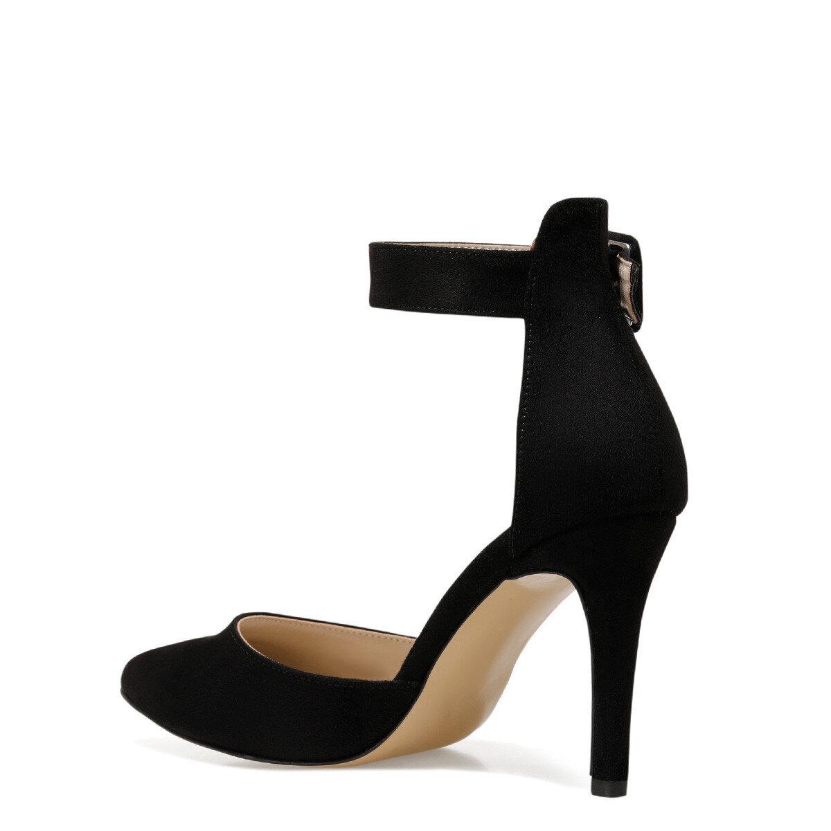 CEYNA Siyah Kadın Topuklu Sandalet