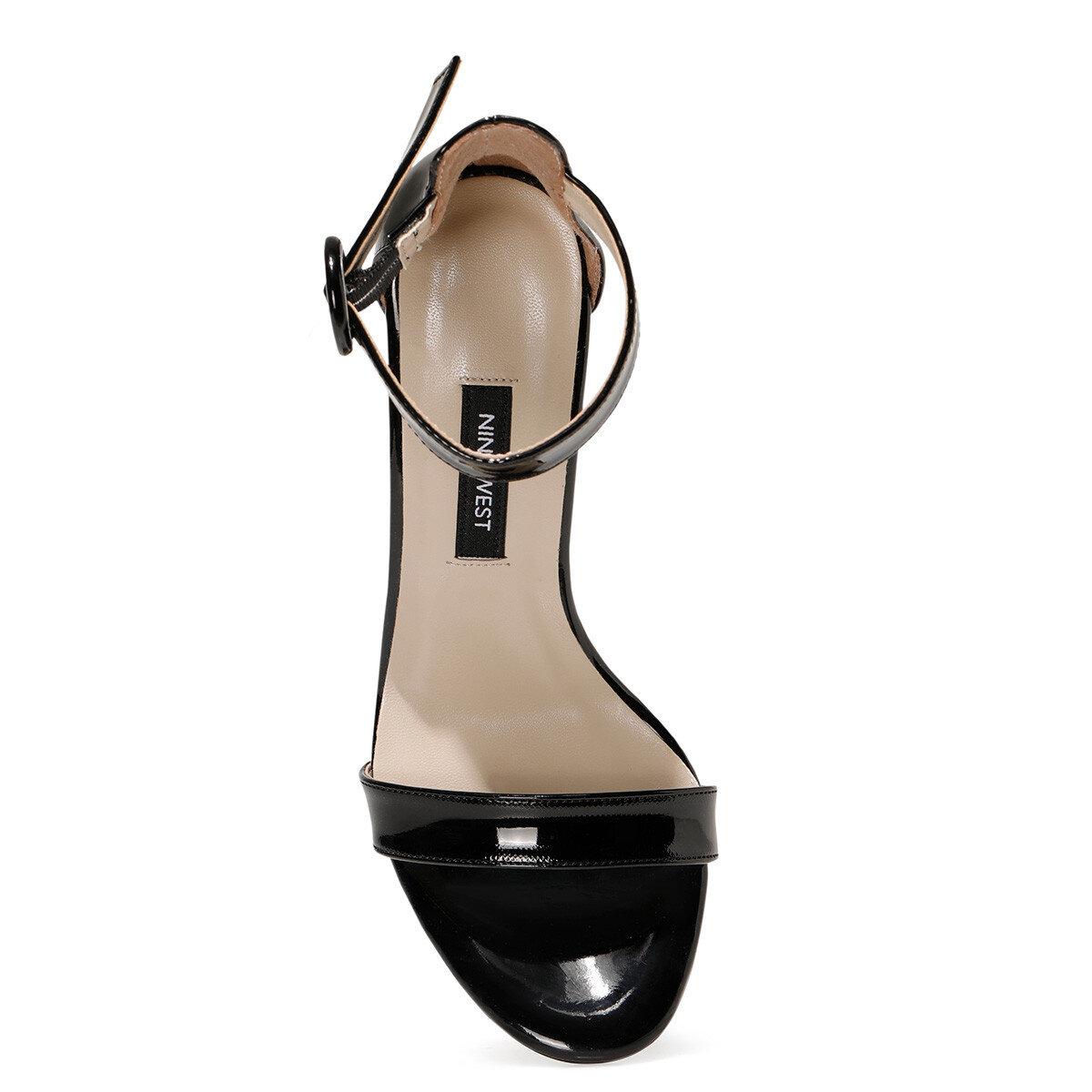 LINDIT2 Siyah Kadın Topuklu Ayakkabı