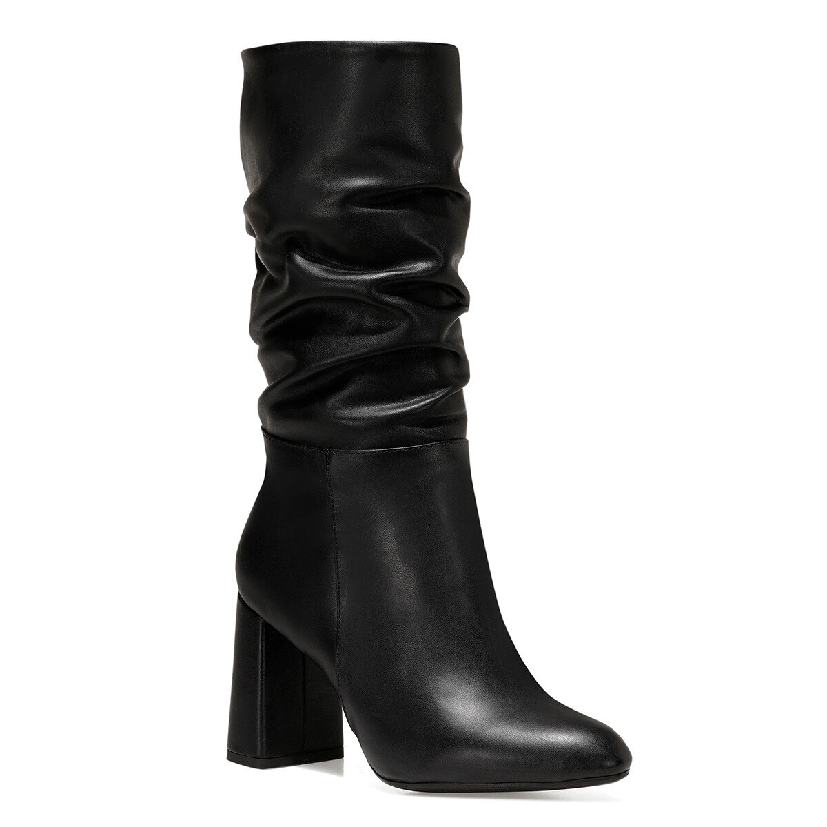 UMBRIA Siyah Kadın Topuklu Çizme