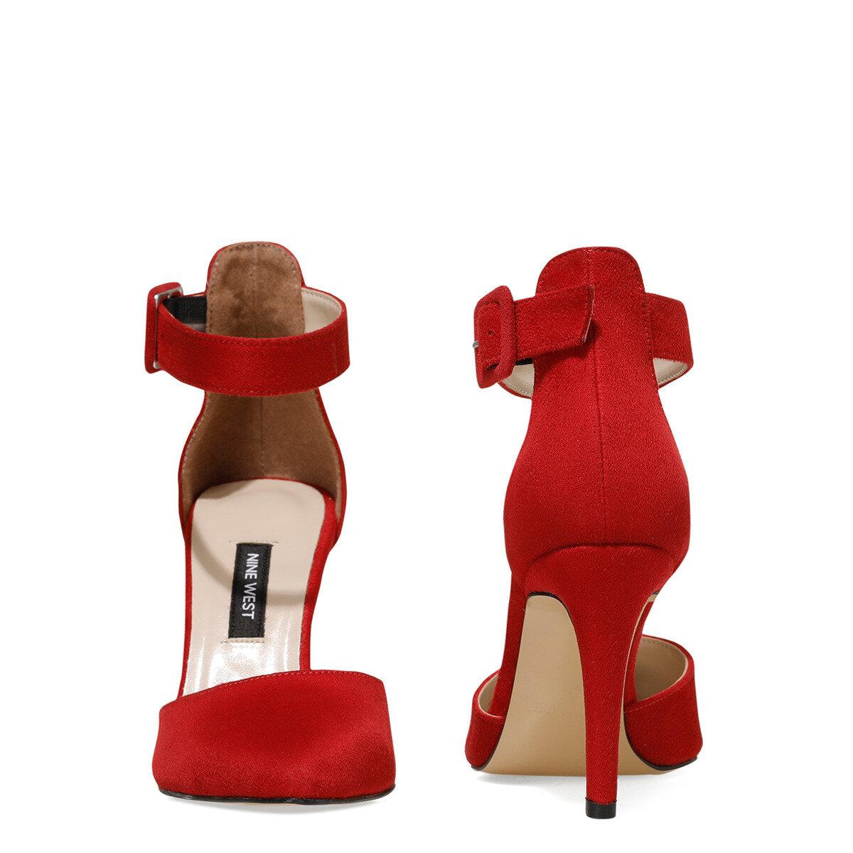CEYNA Kırmızı Kadın Topuklu Sandalet