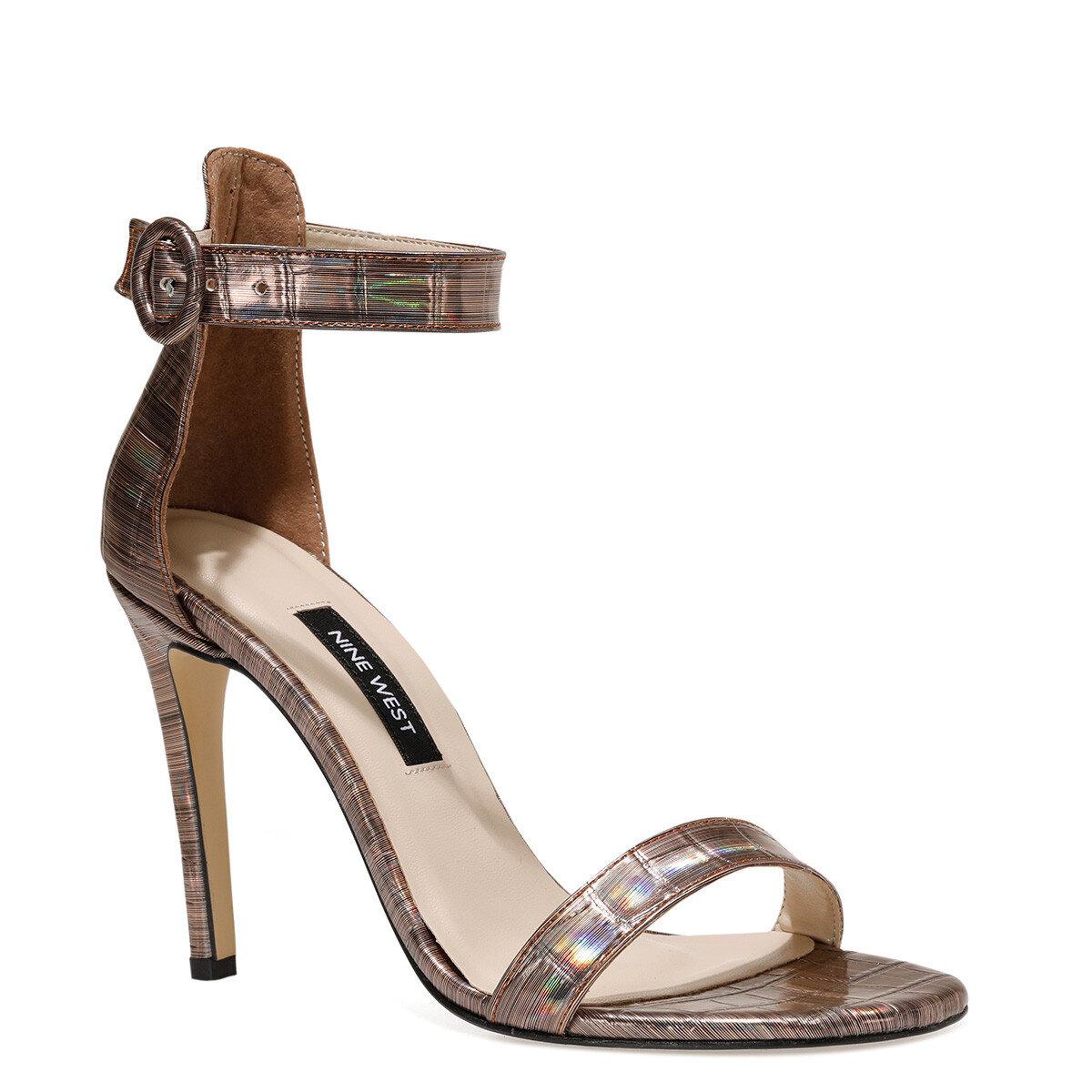 LINDIT Bronz Kadın Topuklu Ayakkabı
