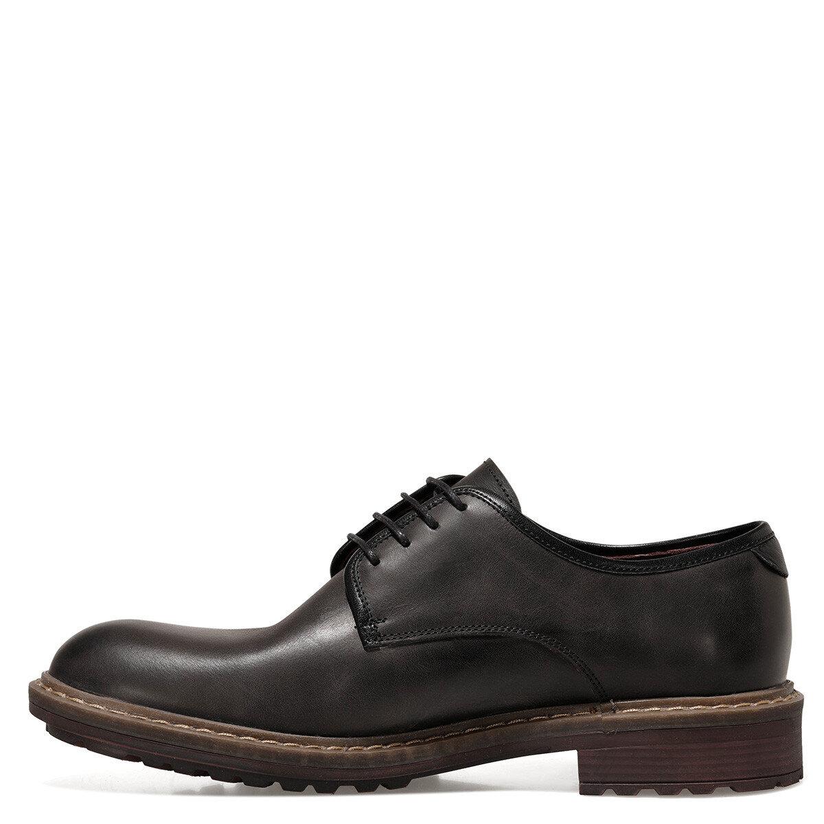 GIANCARLO Siyah Erkek Klasik Ayakkabı