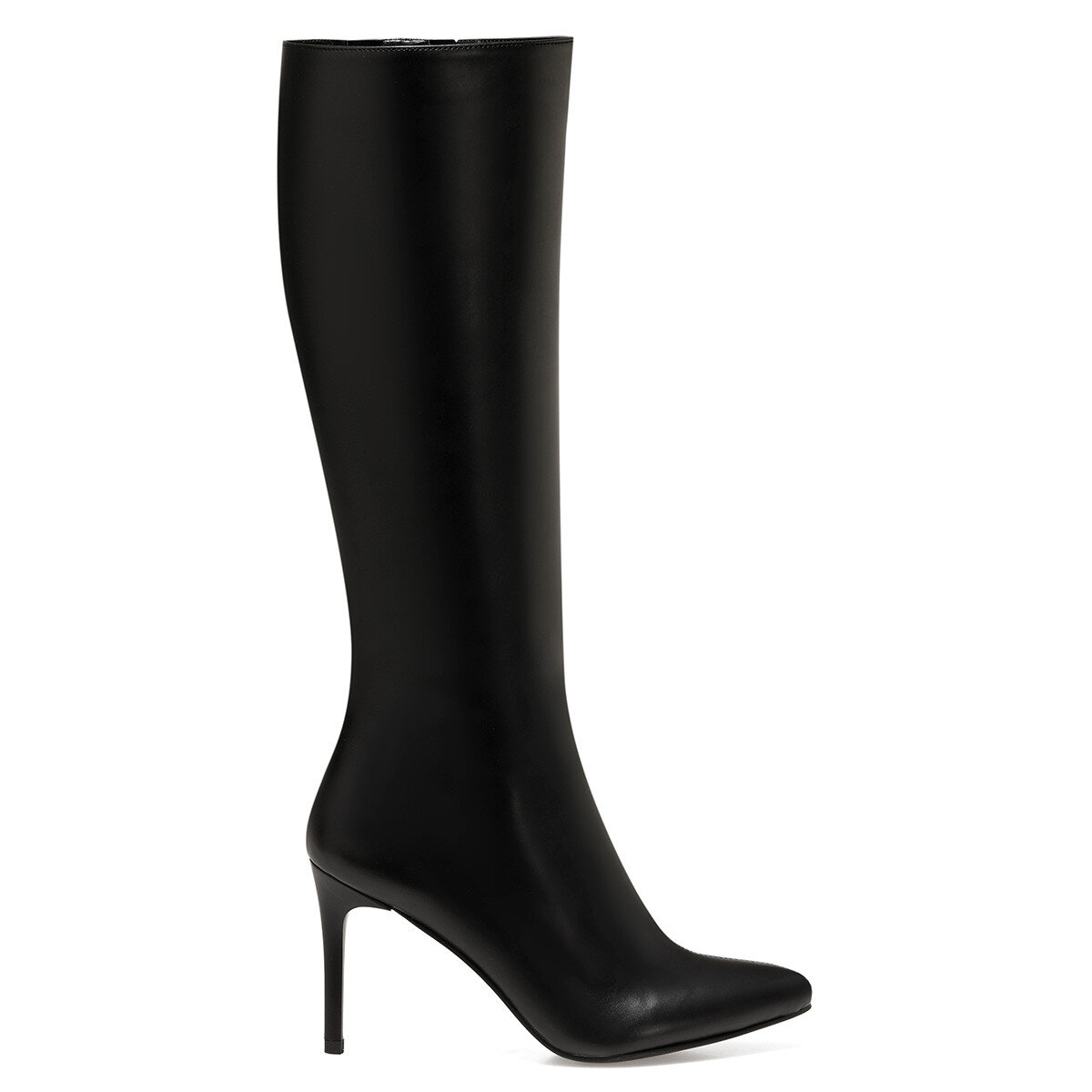 KAREN Siyah Kadın Topuklu Çizme