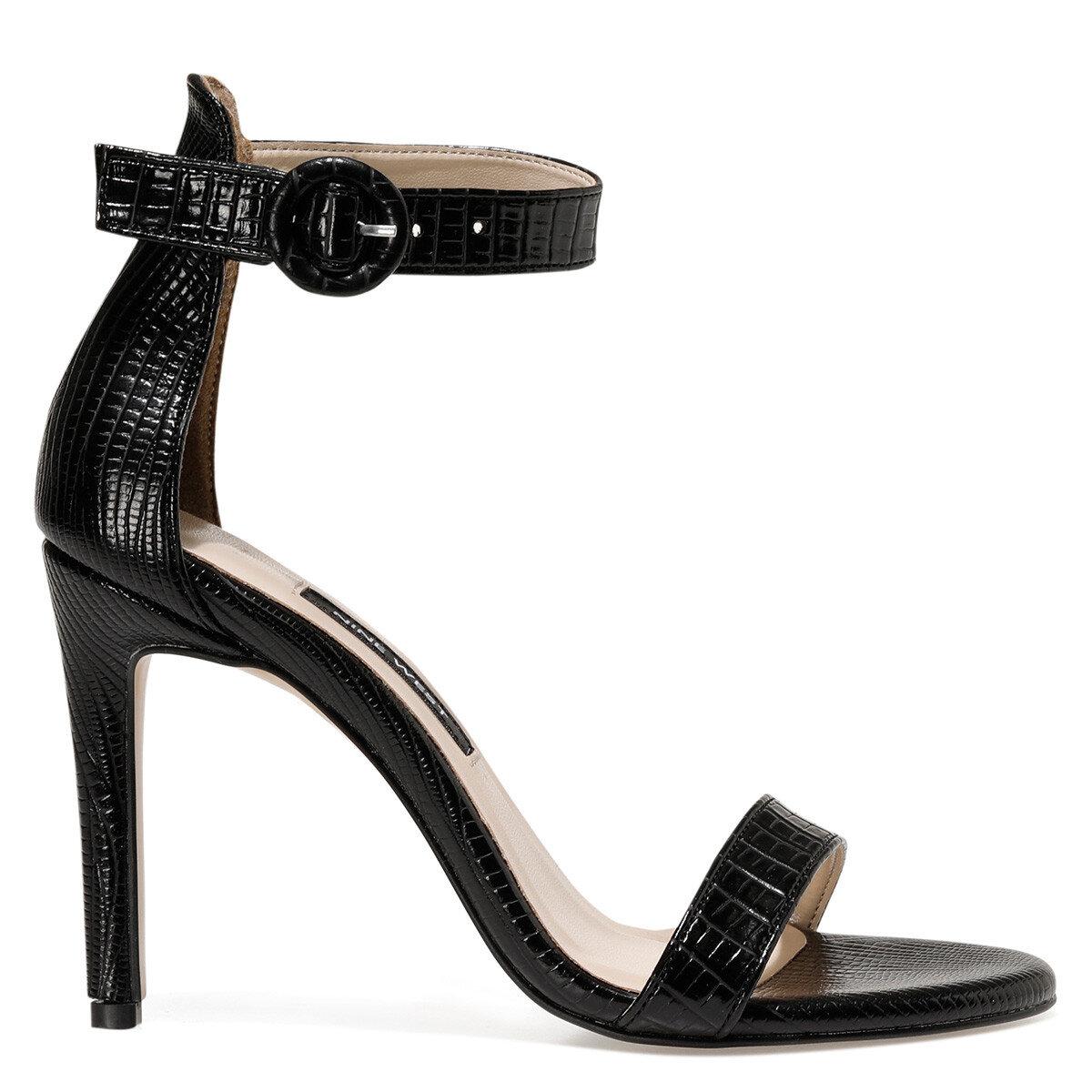 LINDIT4 Siyah Kadın Gova Ayakkabı
