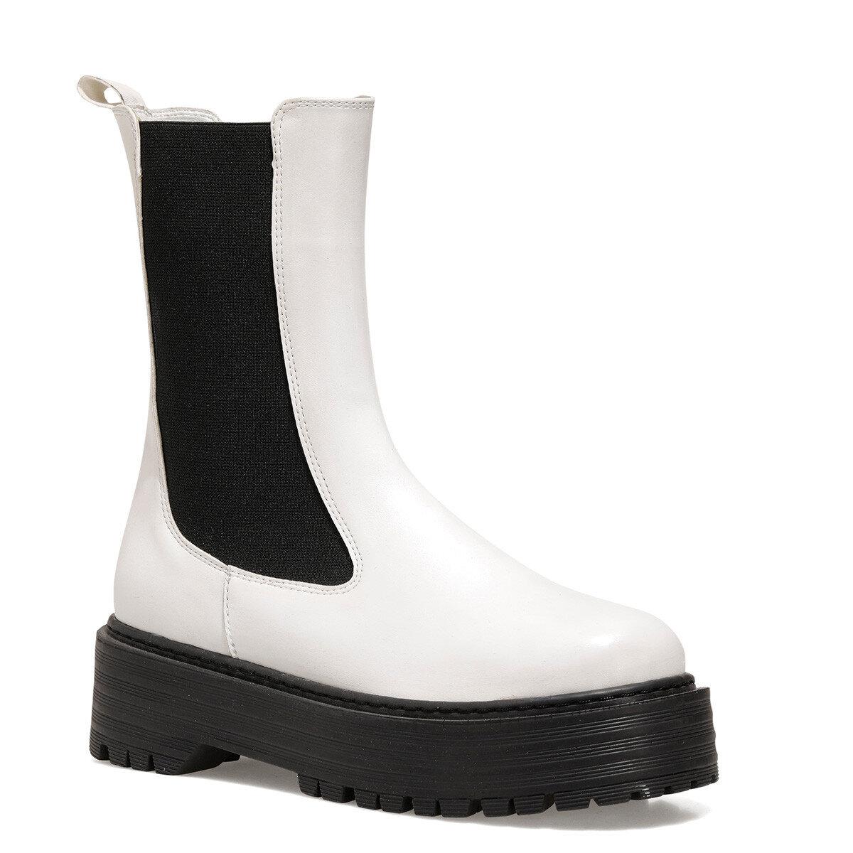 MALPE Beyaz Kadın Sneaker Bot