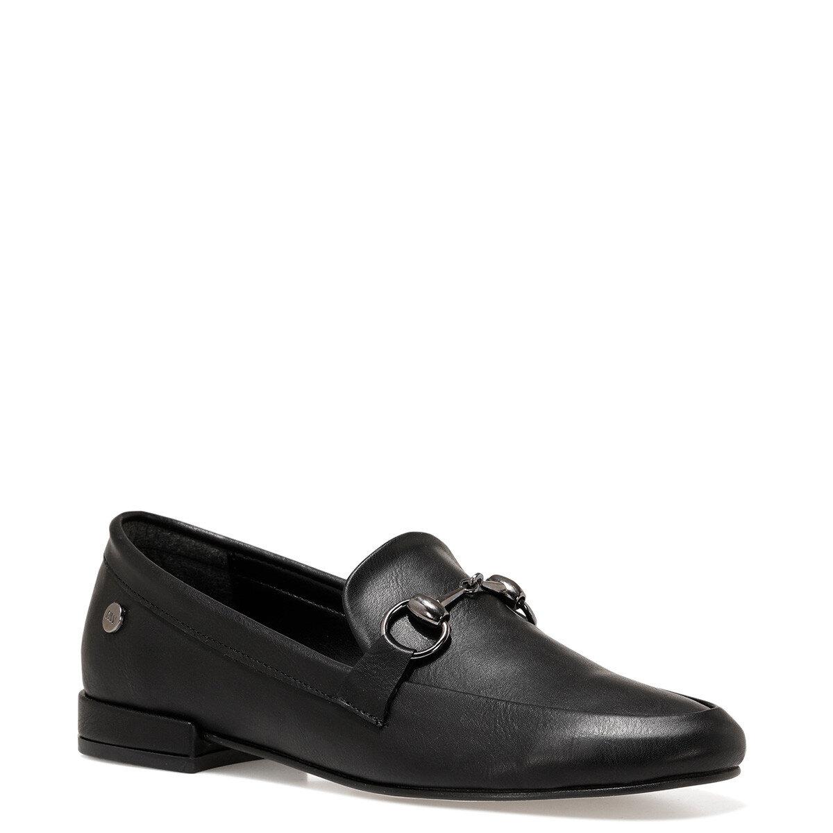 SUELA2 Siyah Kadın Loafer Ayakkabı
