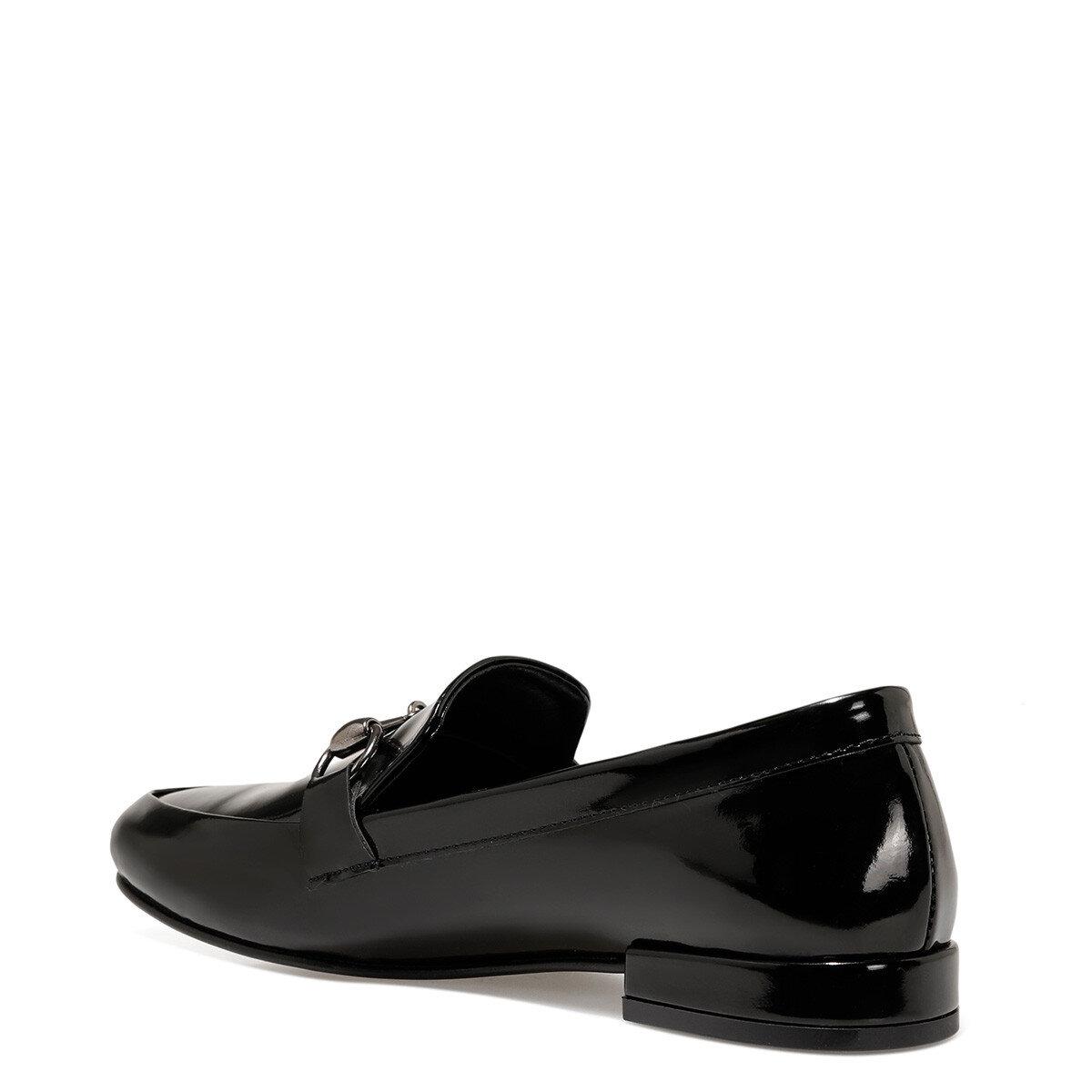 SUELA3 Siyah Kadın Loafer Ayakkabı