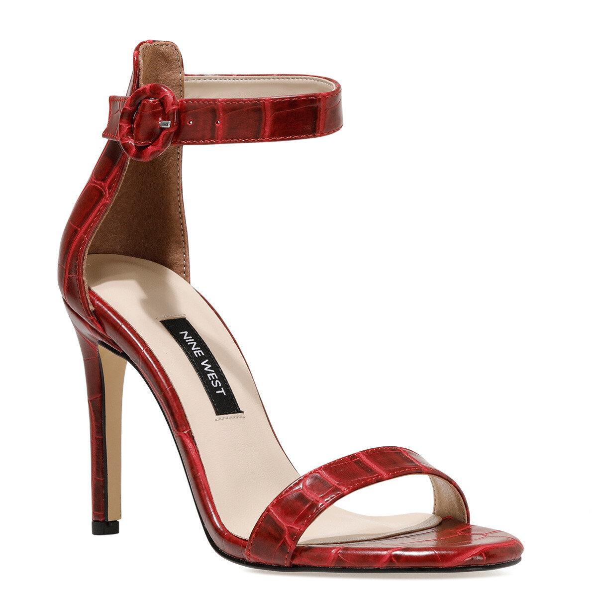 LINDIT Kırmızı Kadın Topuklu Ayakkabı