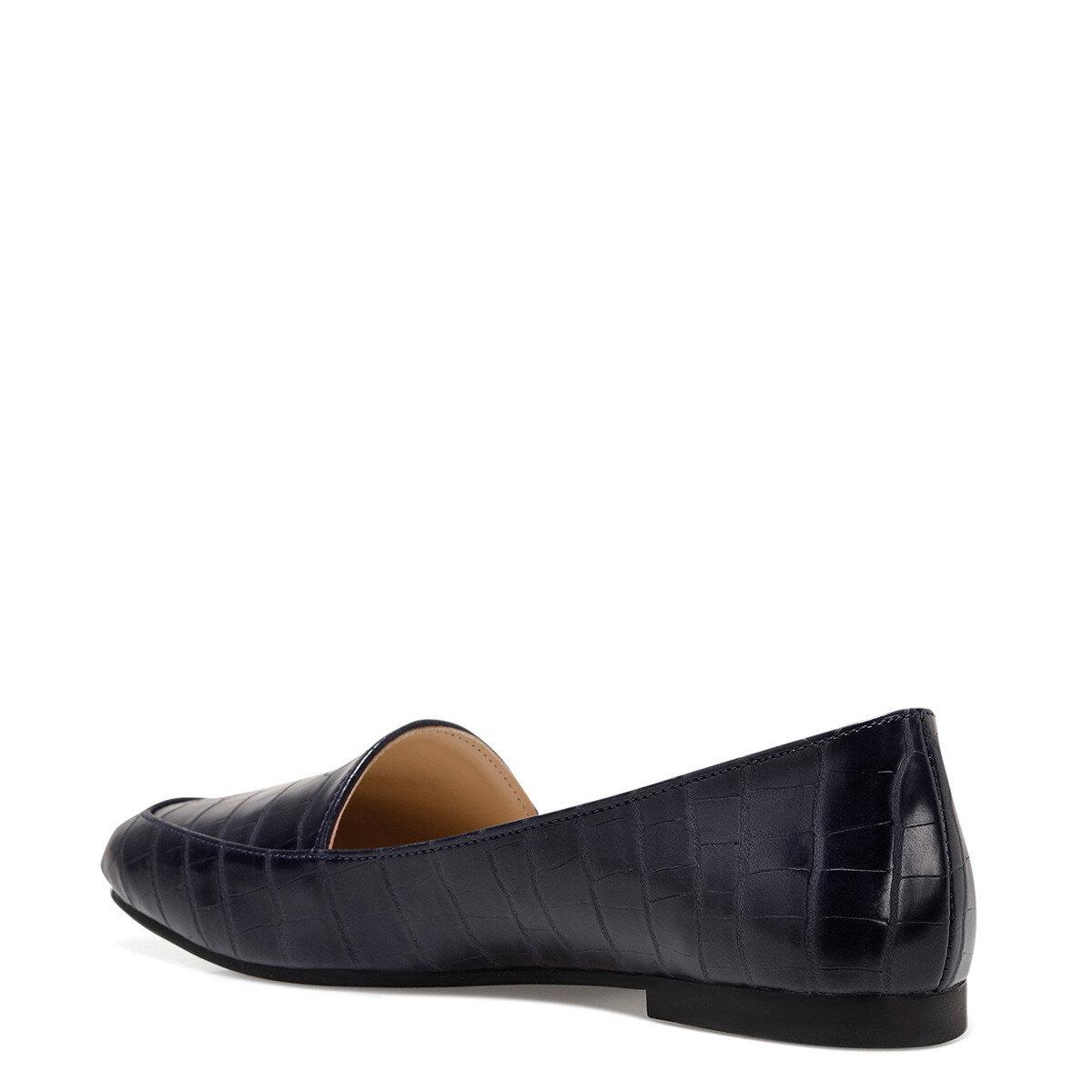 MELANIT3 Lacivert Kadın Loafer Ayakkabı
